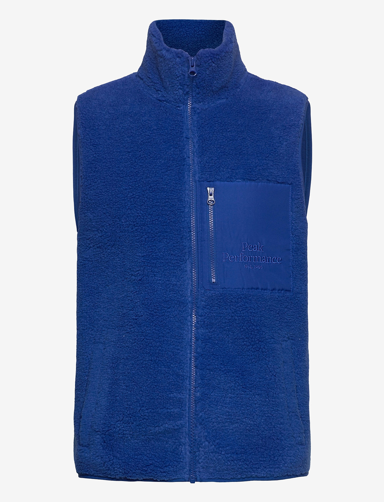 Peak Performance M Original Pile Zip Vest Artic Blue - Jakker og frakker ARTIC BLUE - Menn Klær