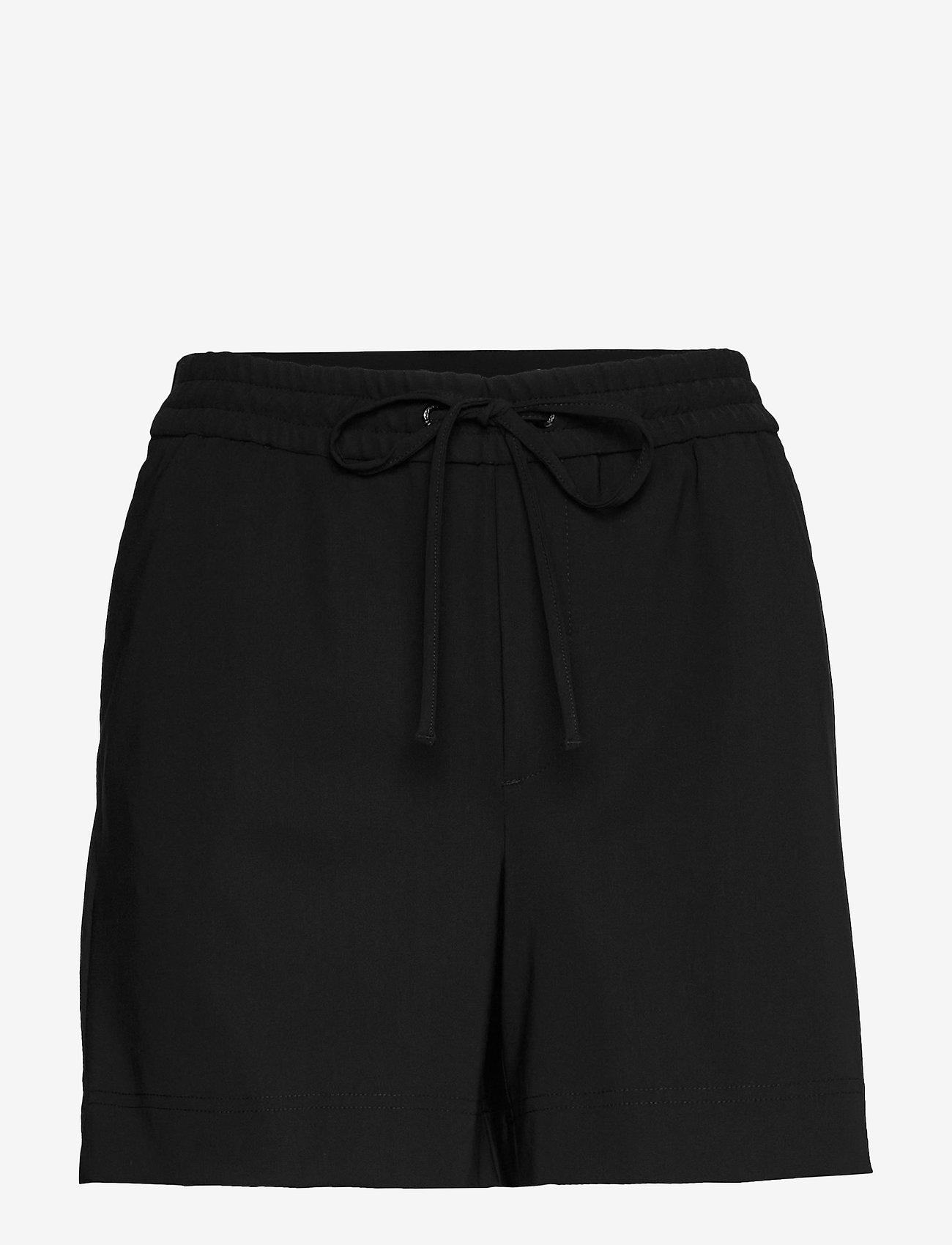 Peak Performance - W Any Jersey Shorts - golfbroeken - black - 0