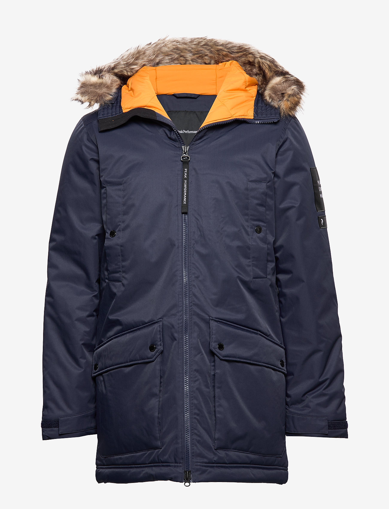 Peak Performance - LOCAL PKA - insulated jackets - blue shadow - 0