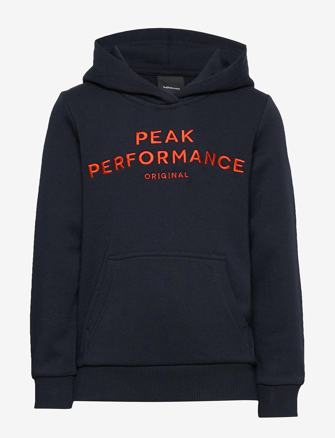 Peak Performance - JR ORIG H - hupparit - salute blue