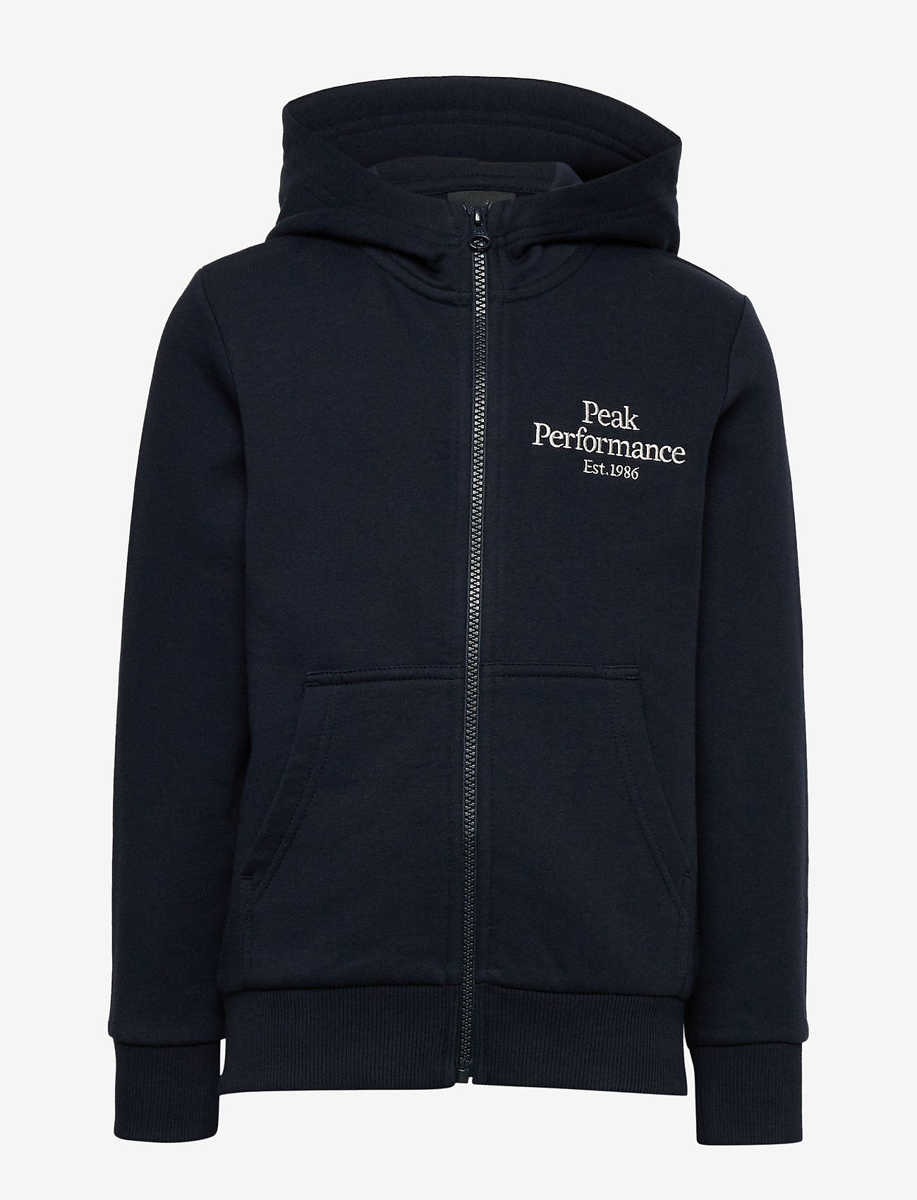 Peak Performance - JR Original Zip Hood - kapuzenpullover - blue shadow - 0