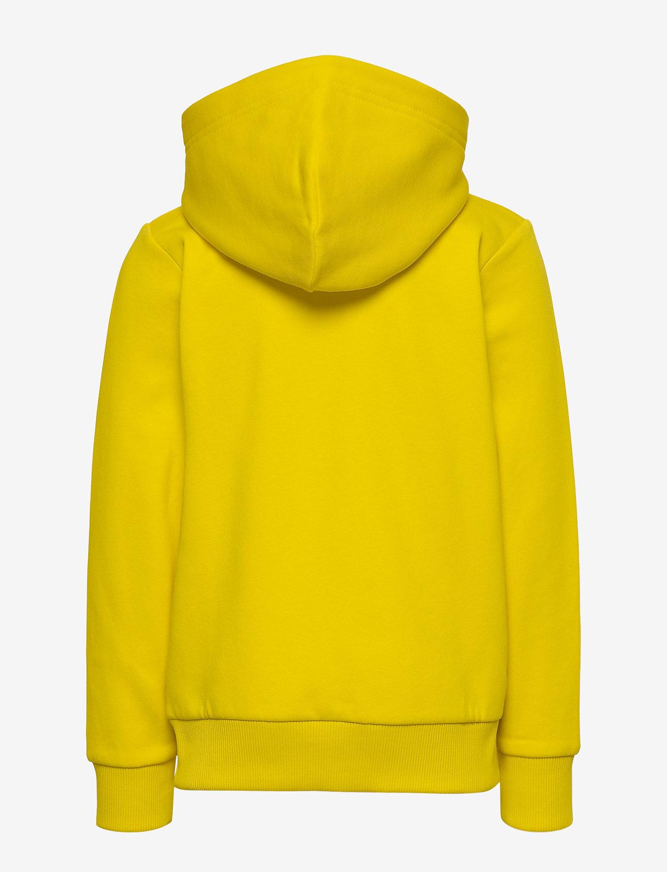Peak Performance - JR Original Zip Hood - kapuzenpullover - stowaway yellow - 1