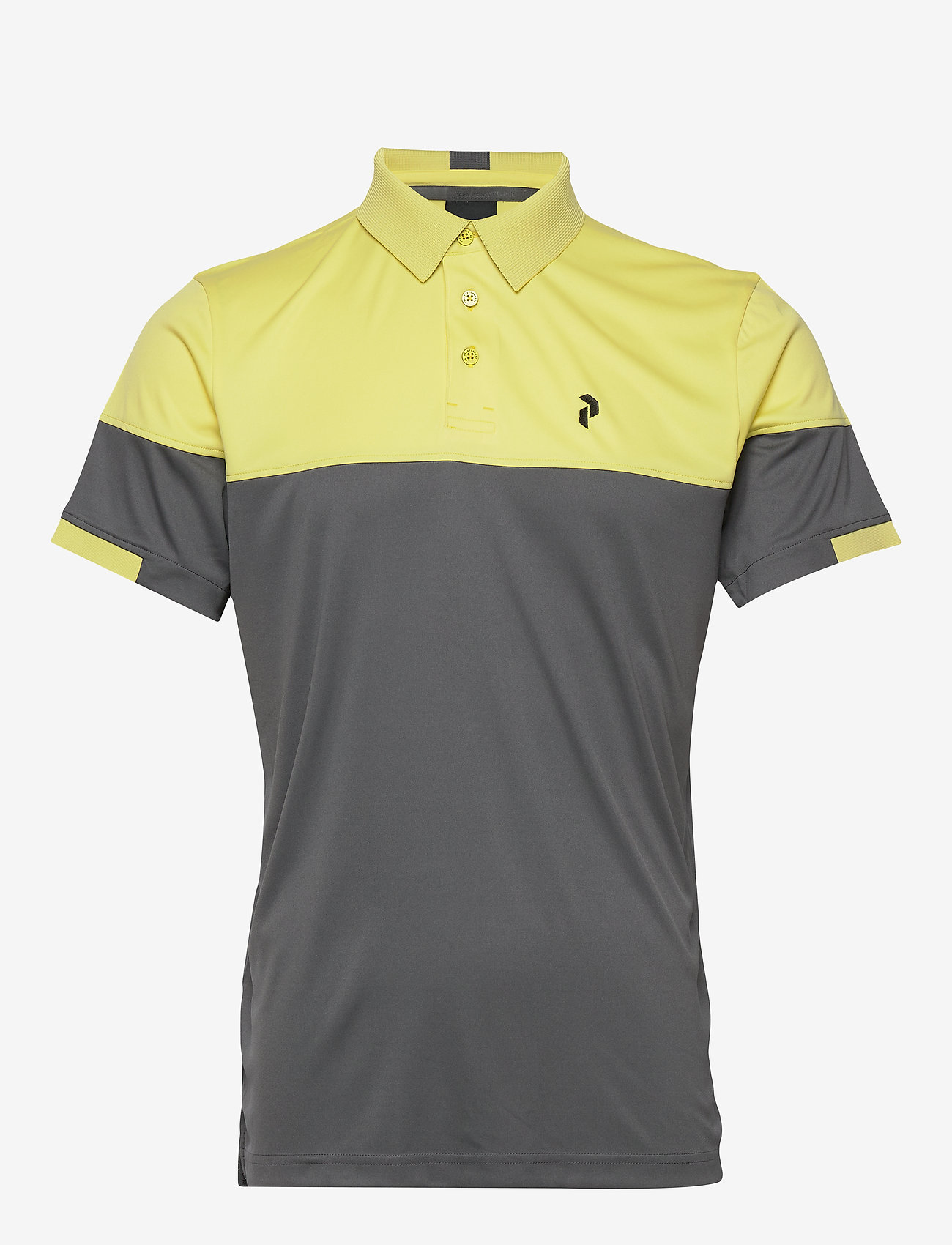 Peak Performance - Player Block Polo Men - kurzärmelig - sunny yellow - 0