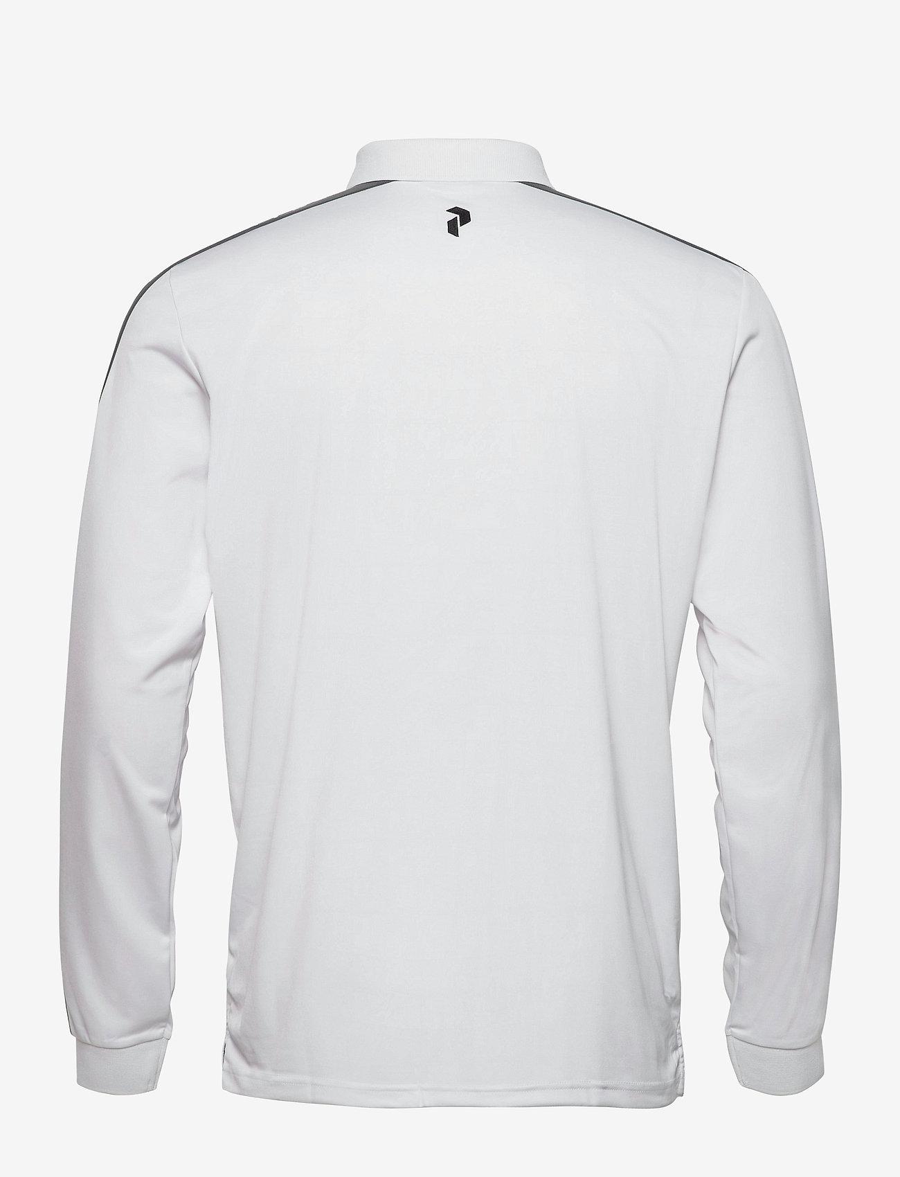 Peak Performance - Player Polo LS Men - paidat - white - 1