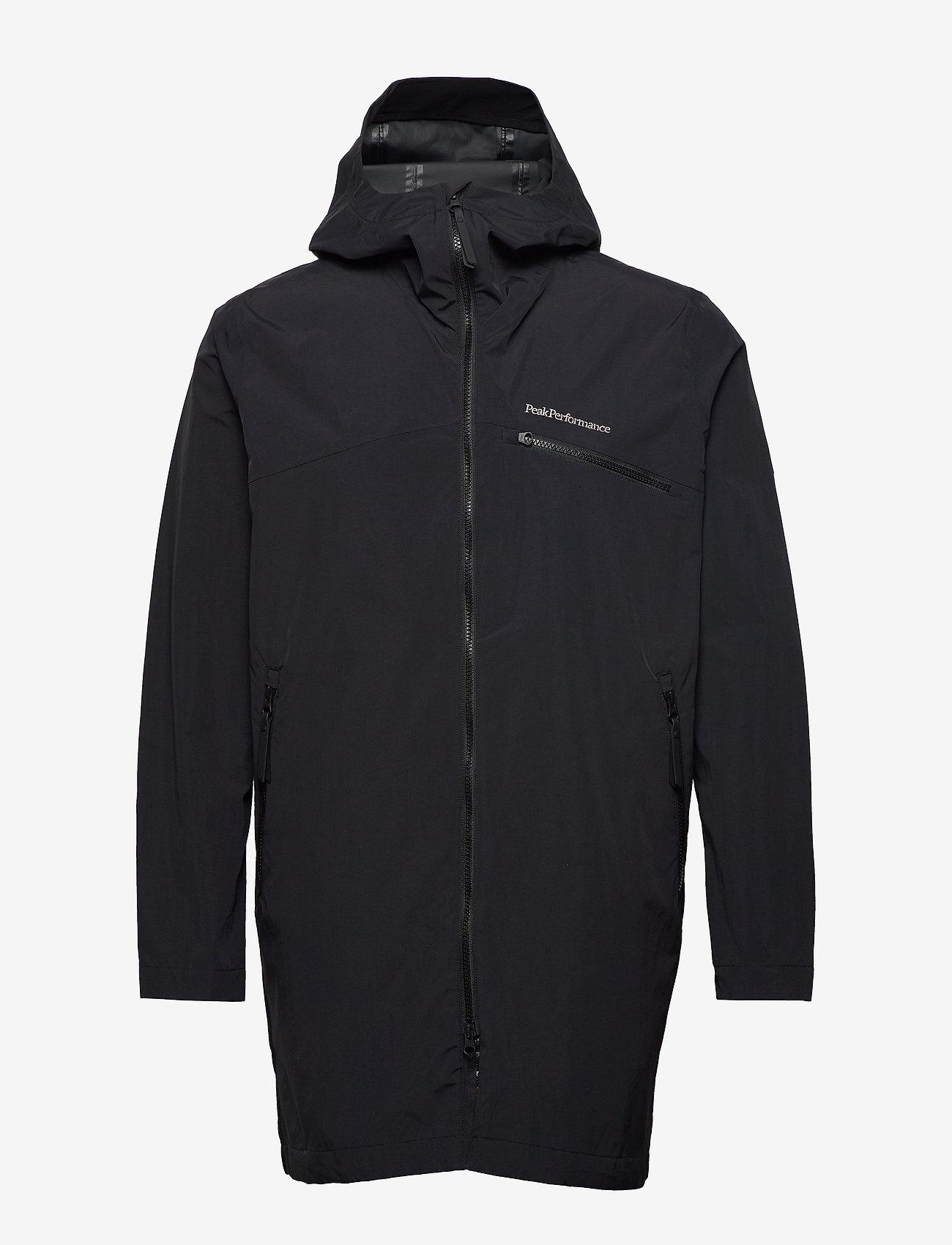 Peak Performance - M Sapphire Light Jacket - kurtki turystyczne - black - 1