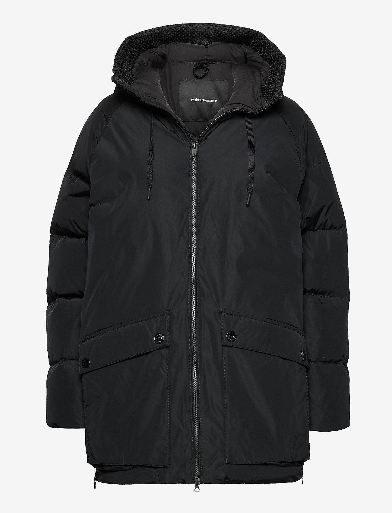Peak Performance - W Stella Jacket Black - parkatakit - black - 0