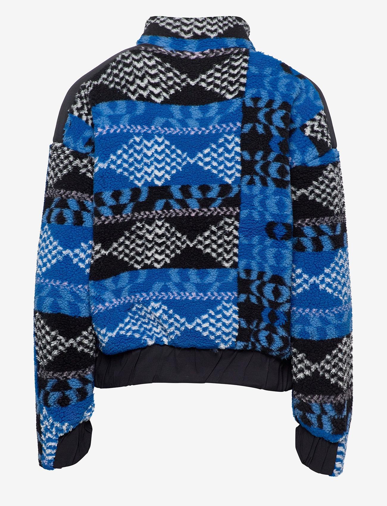 Peak Performance - W Original Pile Zip AW Pattern - fleece - pattern - 1