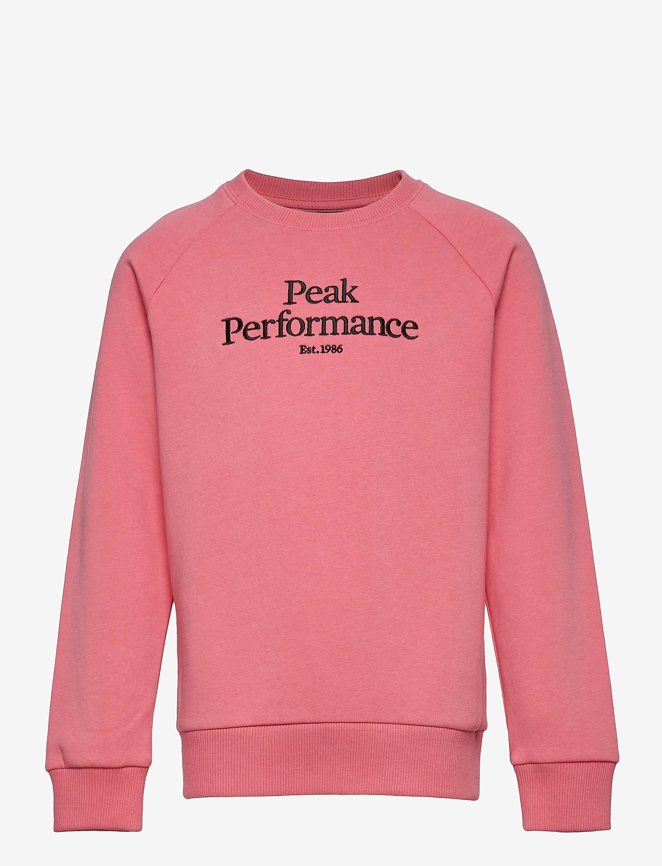 Peak Performance - Jr Original Crew - sweatshirts - alpine flower - 0