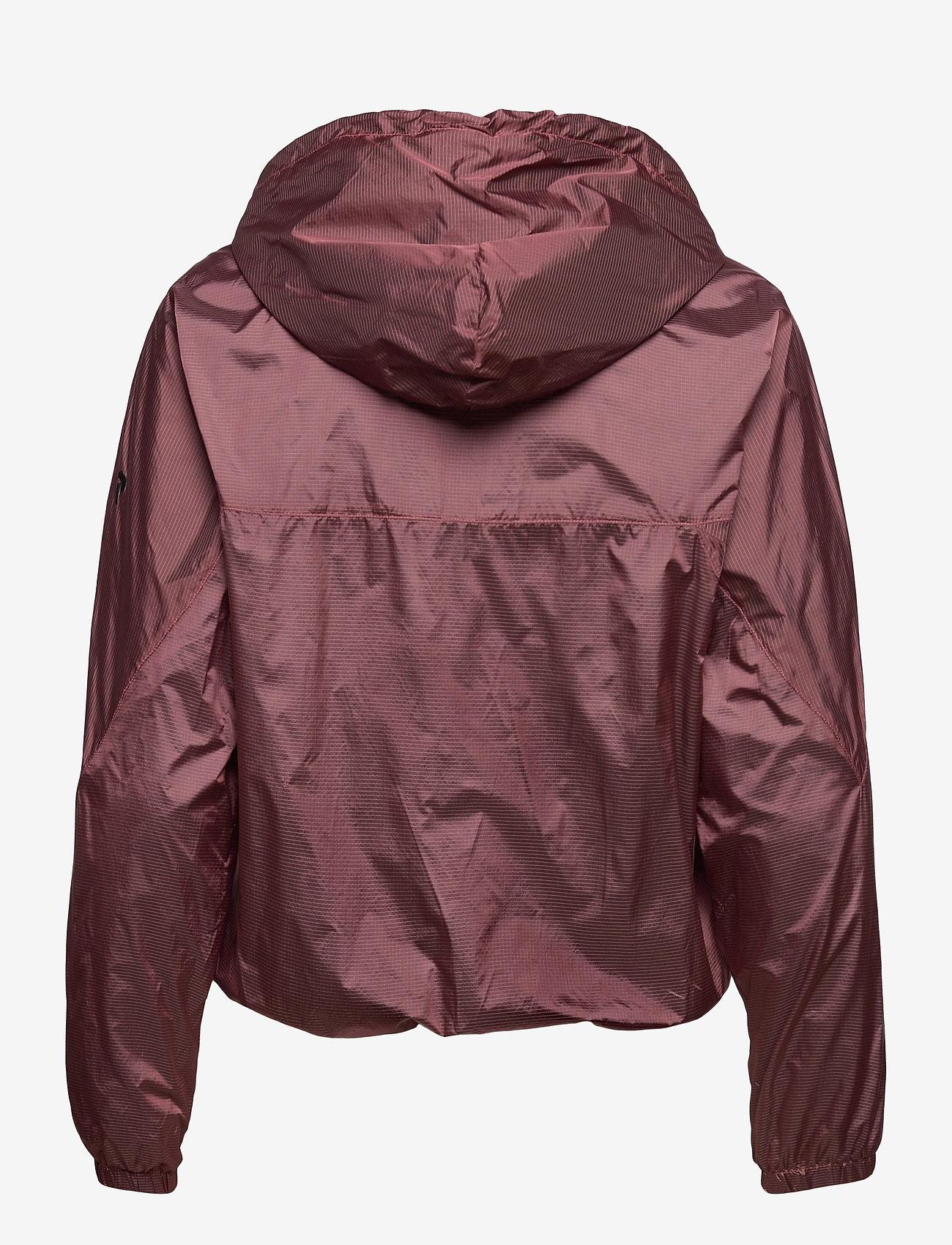 Peak Performance - W Windbreaker - training jackets - alpine flower - 1