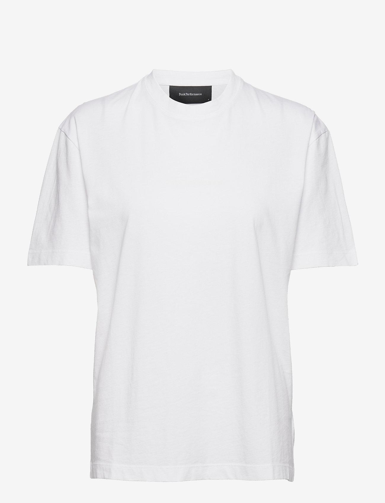 Peak Performance - W Long Tee - t-paidat - white - 0