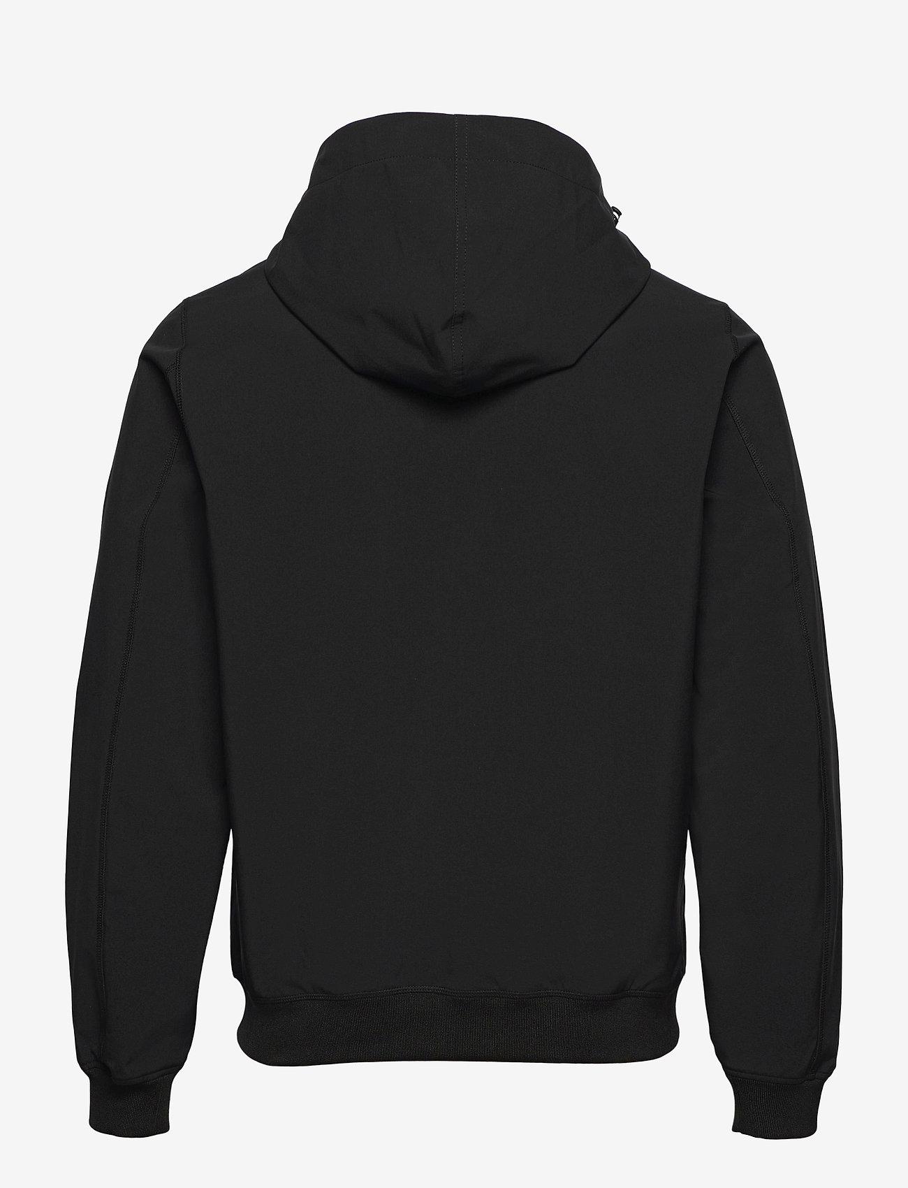 Peak Performance - M Softshell Hood Jacket - wandel- en regenjassen - black - 1