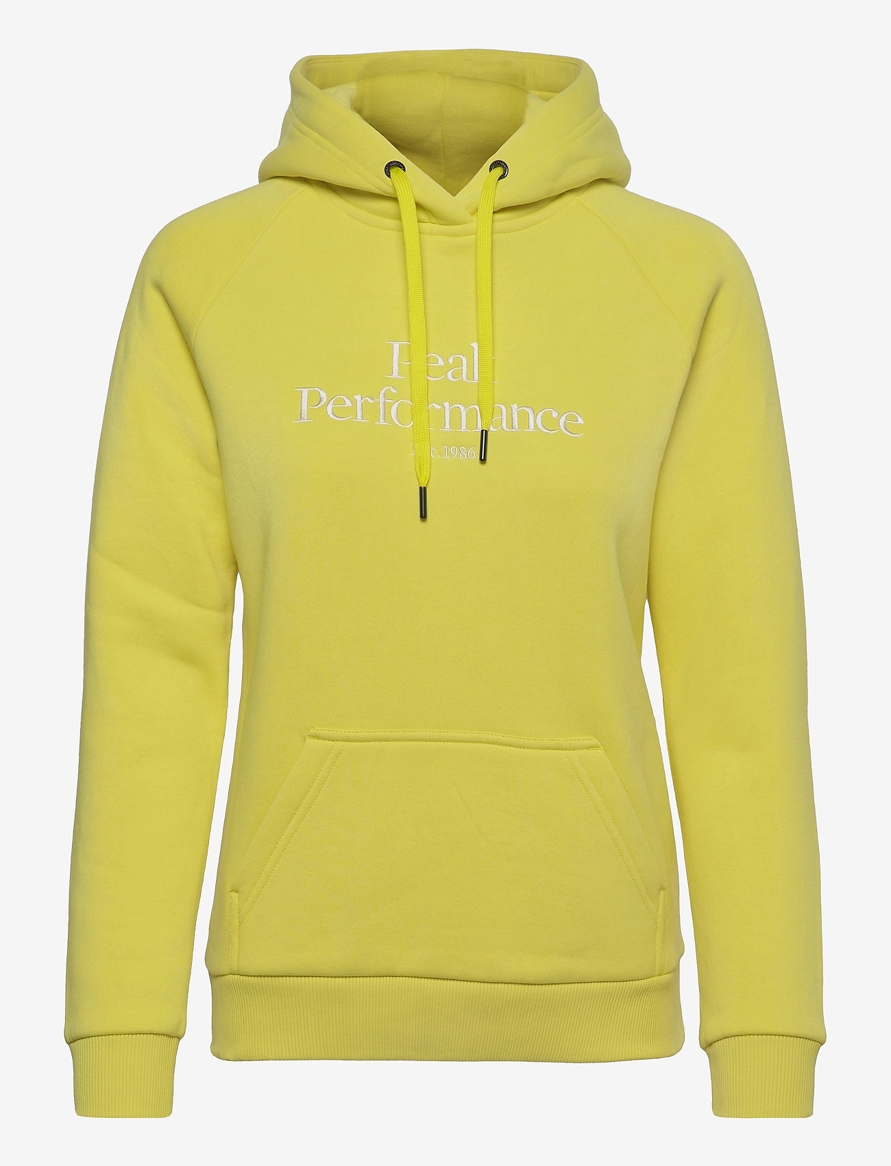 Peak Performance - W Original Hood - hupparit - citrine - 0