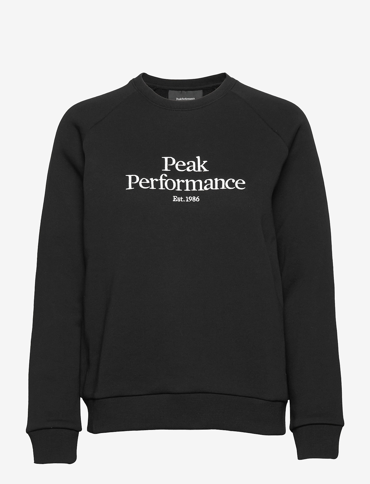 Peak Performance - W Original Crew - svetarit - black - 0