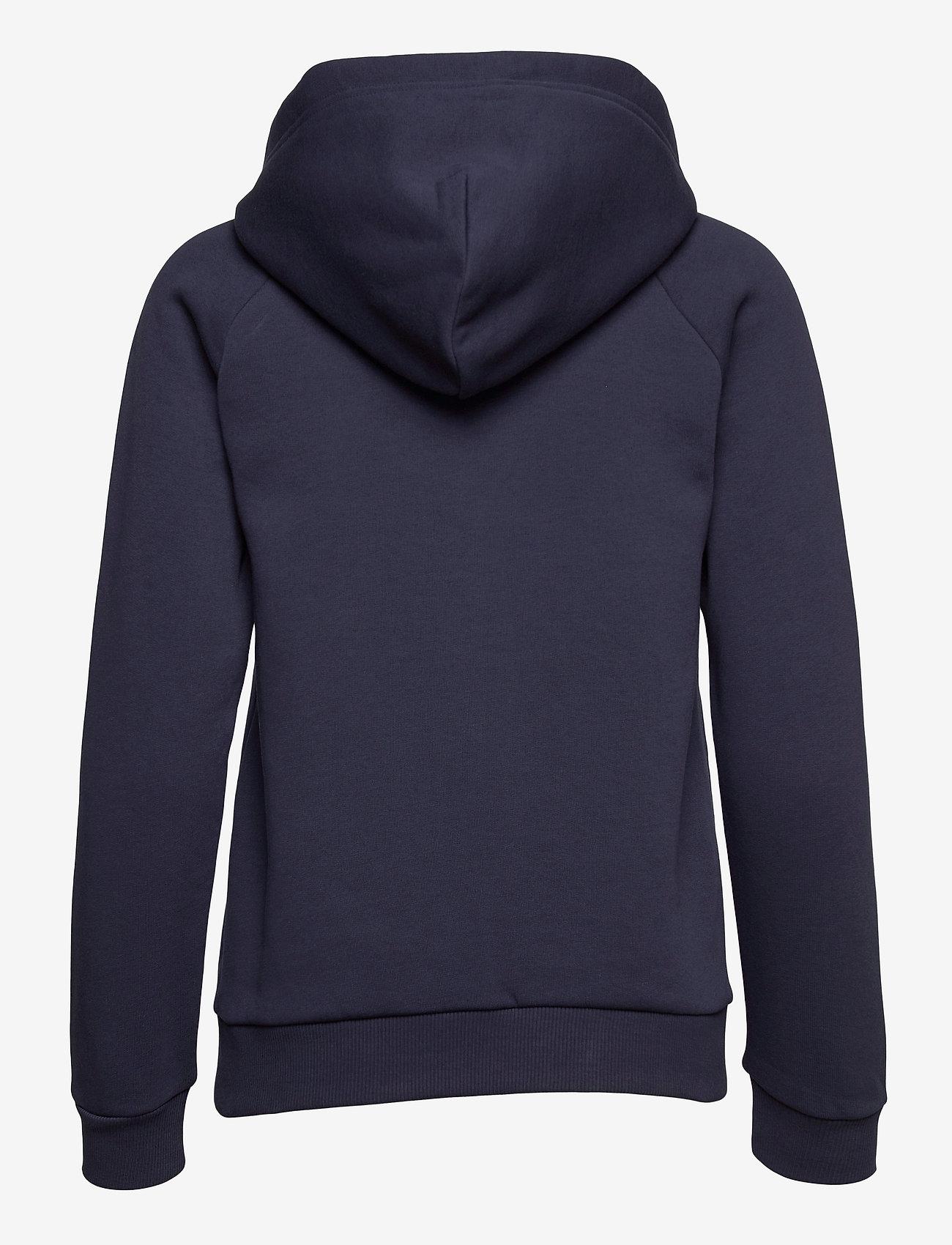 Peak Performance - W Original Zip Hood - hupparit - blue shadow - 1