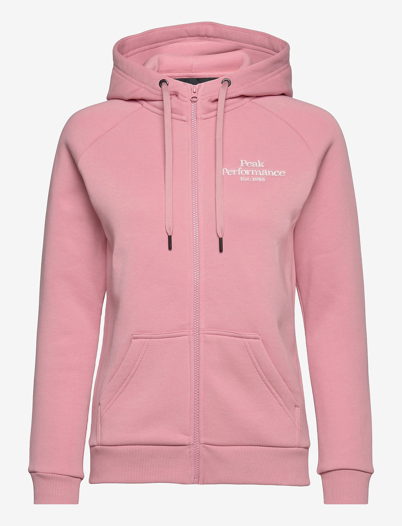 Peak Performance - W Original Zip Hood - hupparit - warm blush - 0