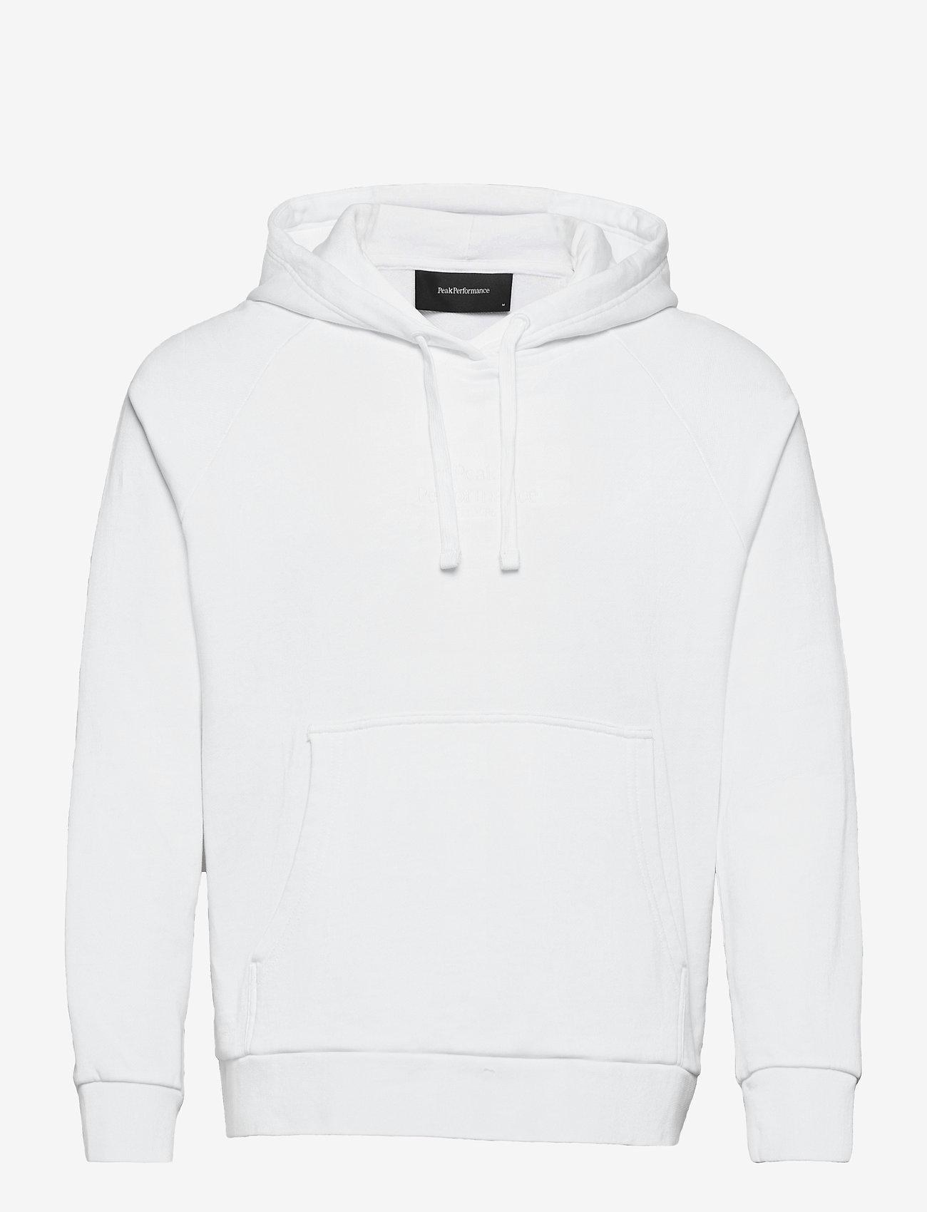 Peak Performance - W Original Light Hood - hupparit - white - 0