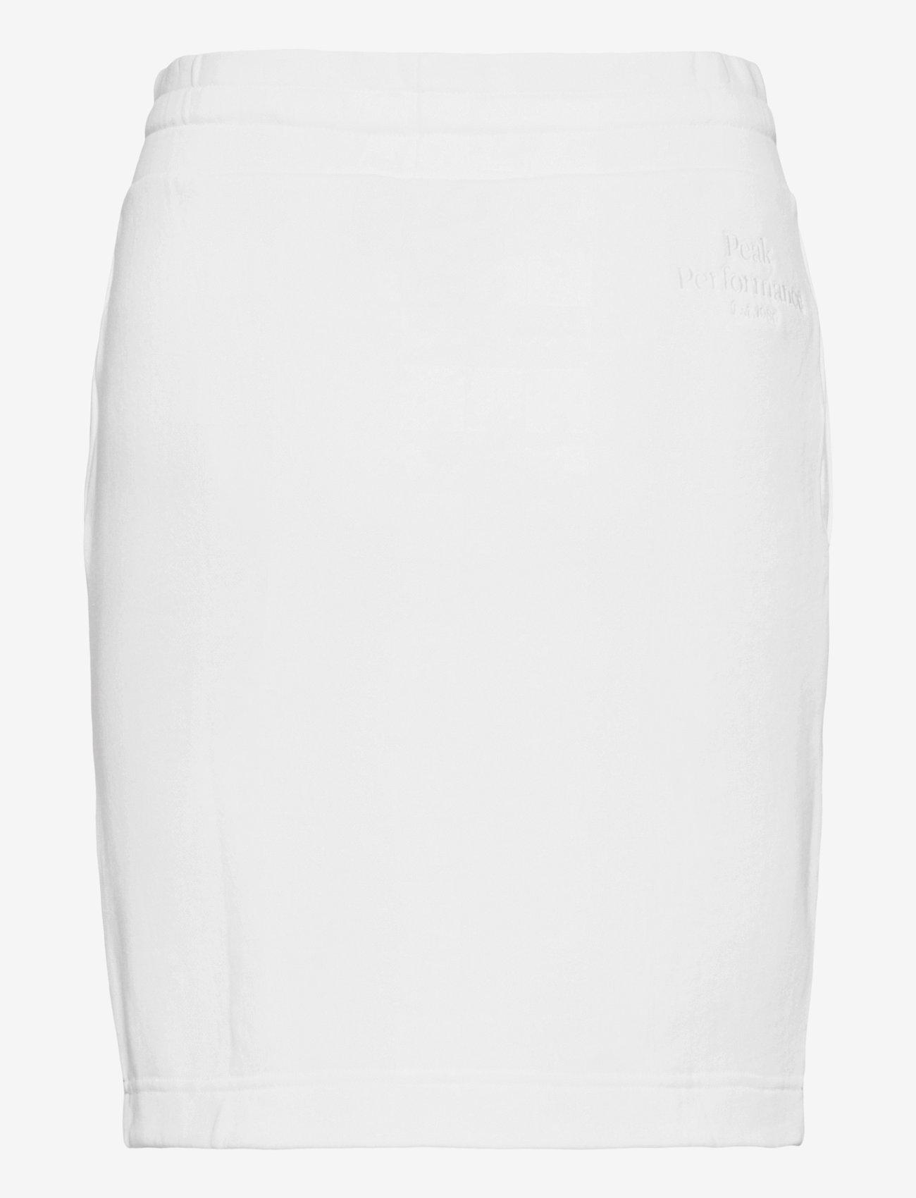 Peak Performance - W Original Light Skirt - urheiluhameet - white - 1