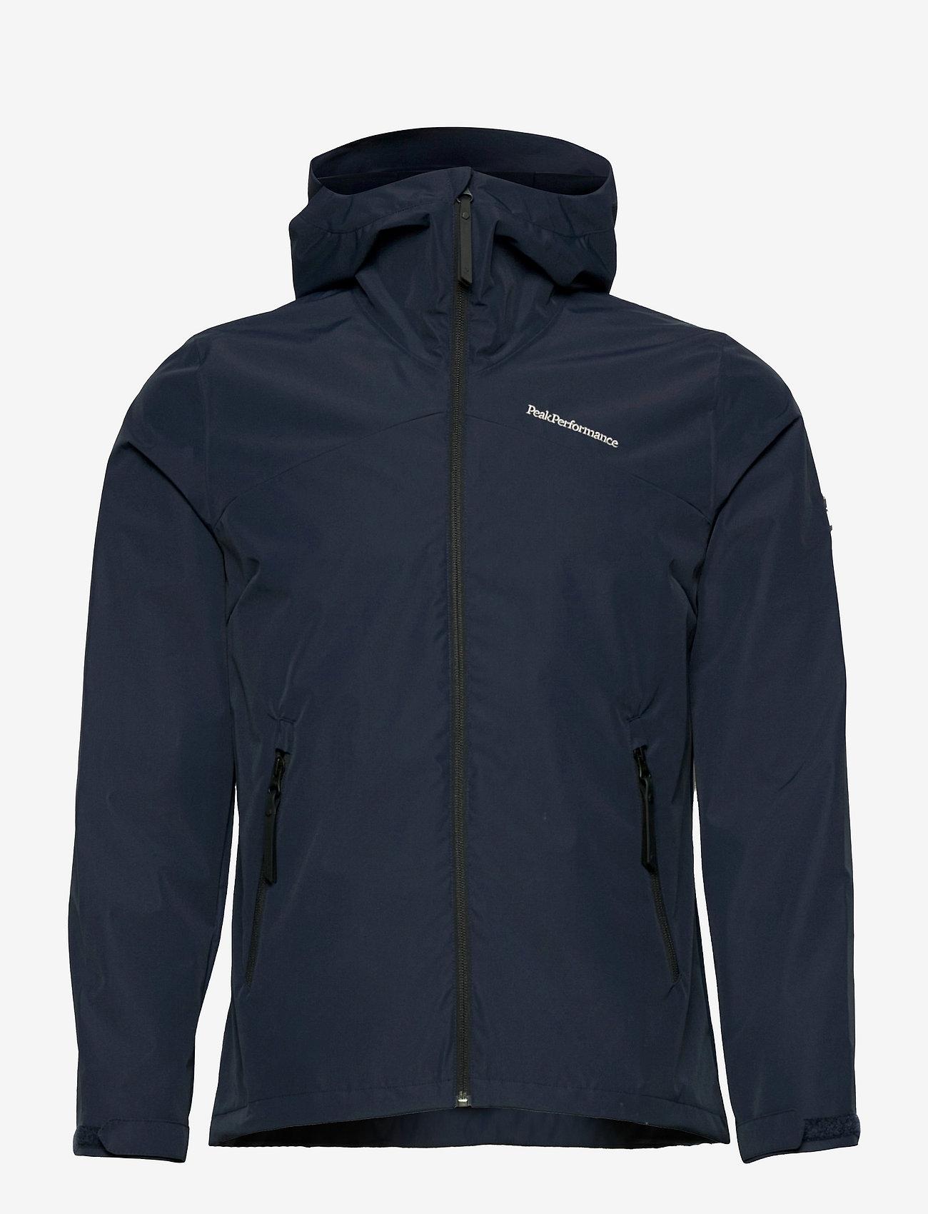 Peak Performance - W Coastal Jacket - ulkoilu- & sadetakit - blue shadow - 0