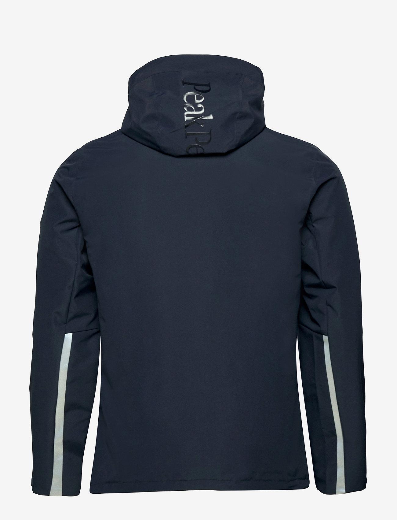 Peak Performance - W Coastal Jacket - ulkoilu- & sadetakit - blue shadow - 1