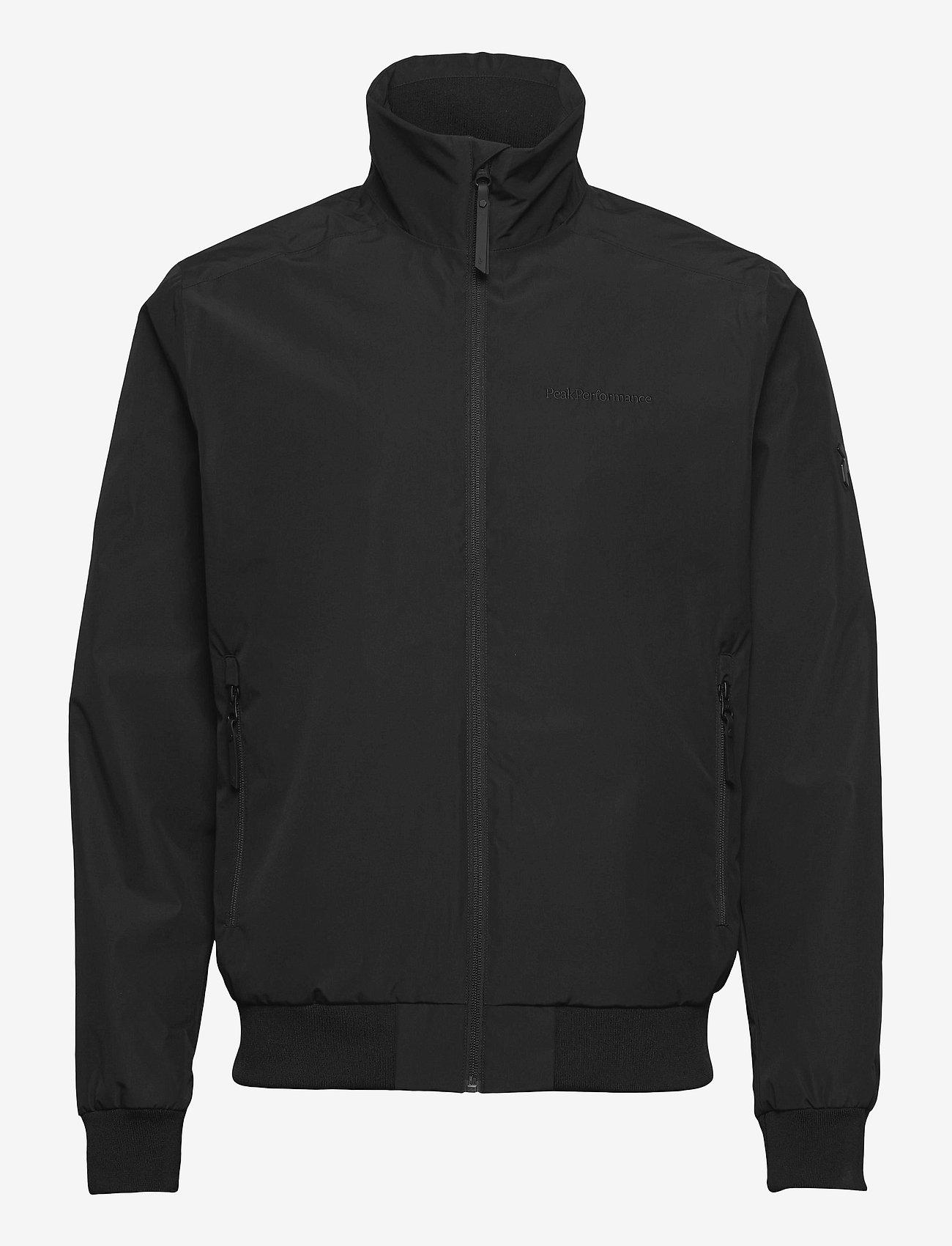Peak Performance - M Coastal Jacket - veste sport - black - 0