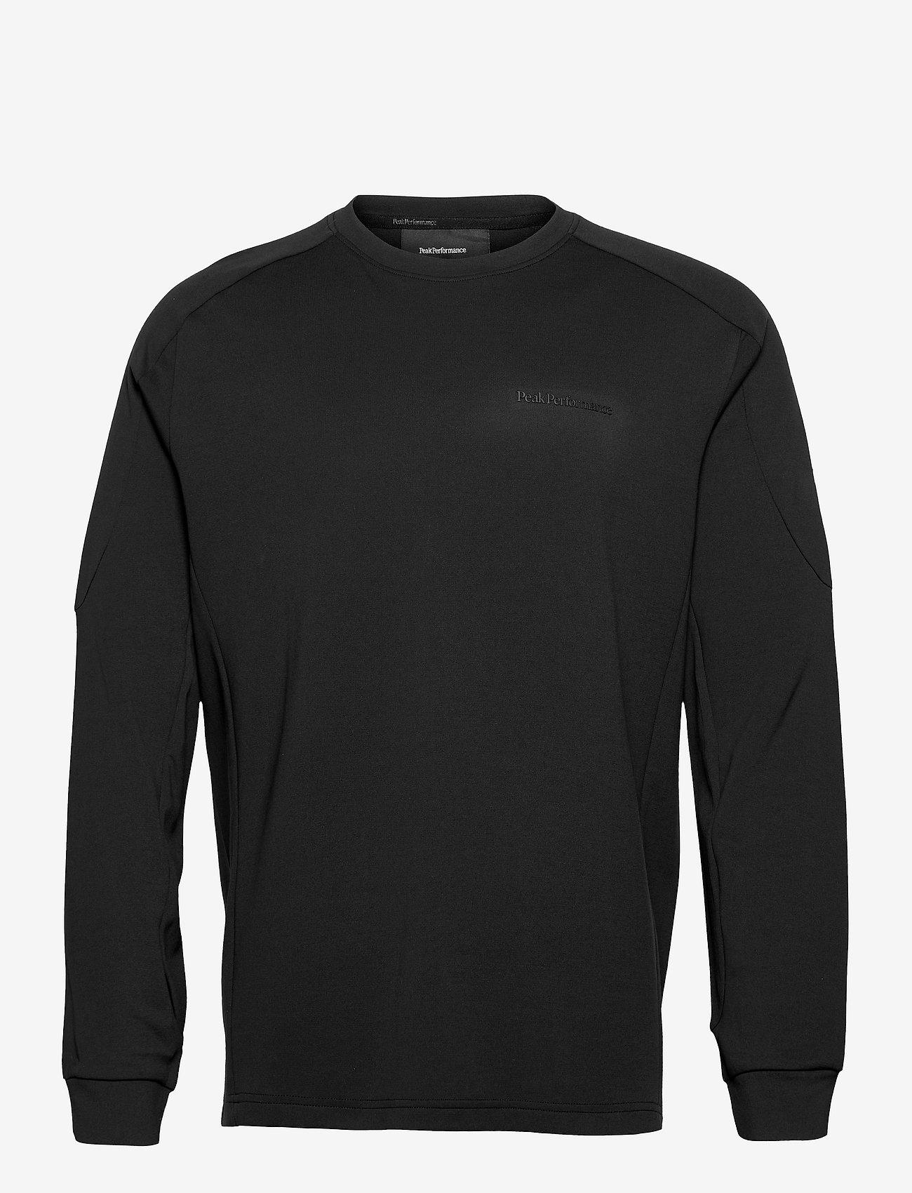 Peak Performance - M Tech Dry Crew - fleece - black - 0