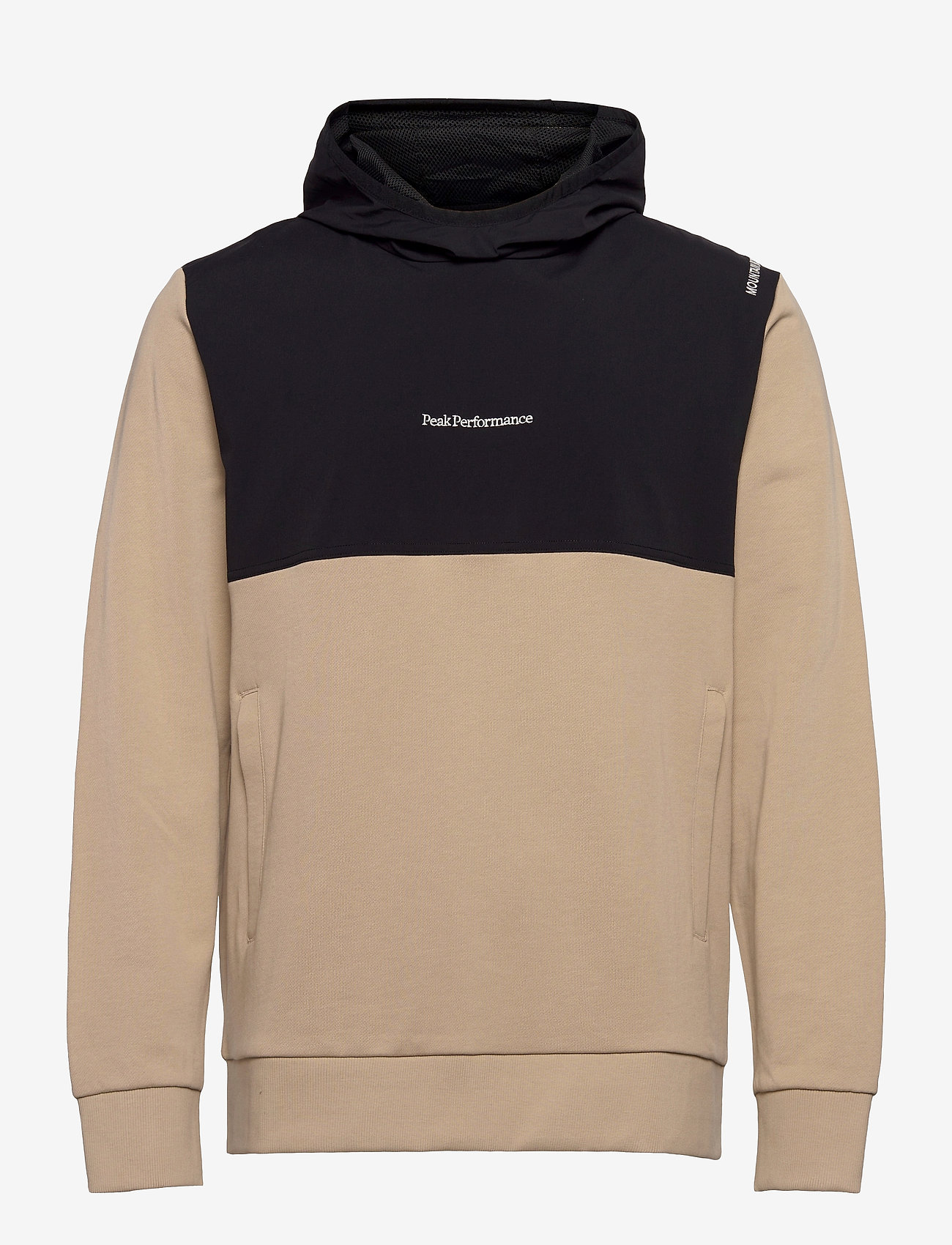 Peak Performance - M Stowaway Hood - hupparit - celsian beige   black - 0