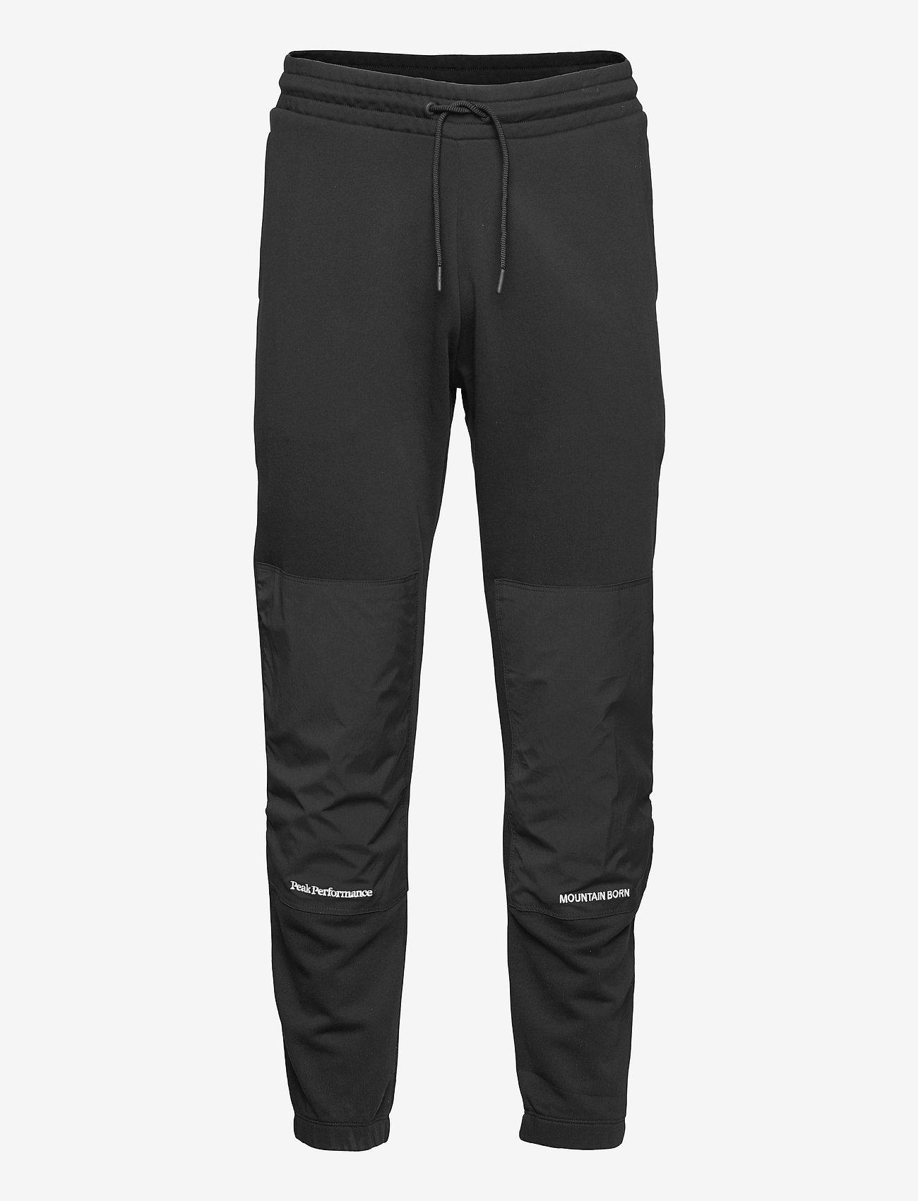 Peak Performance - M Stowaway Pant - pantalons - black - 0