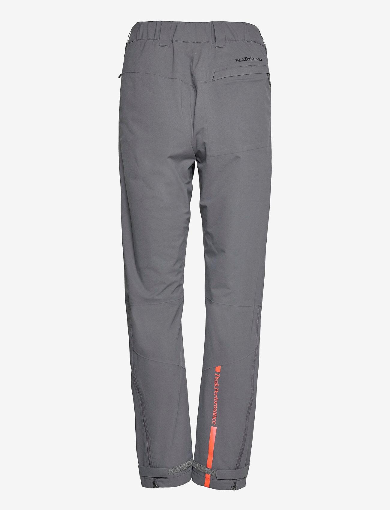 Peak Performance - W Velox Pants - golf-housut - deep earth - 1
