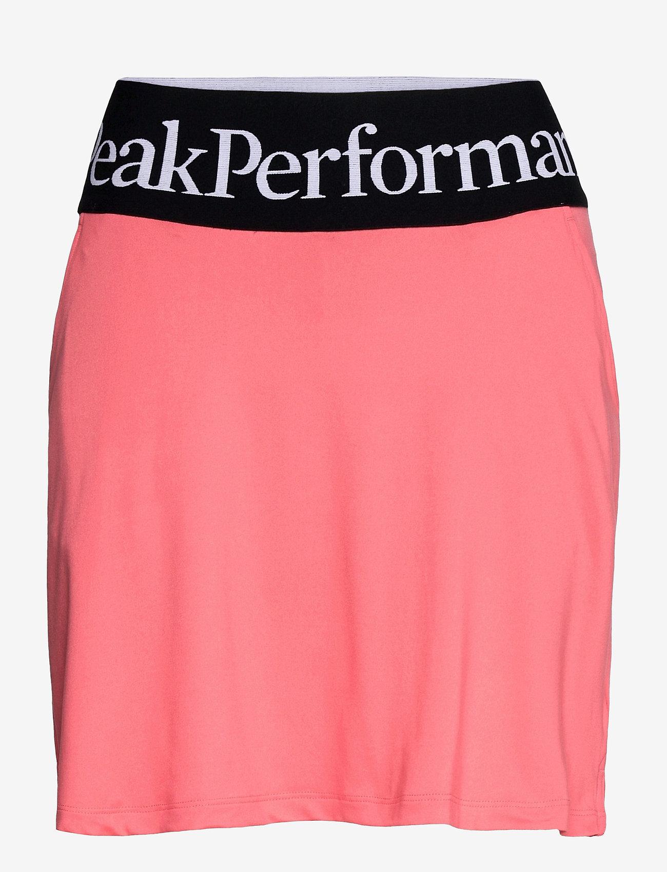 Peak Performance - W Turf Skirt - urheiluhameet - alpine flower - 0