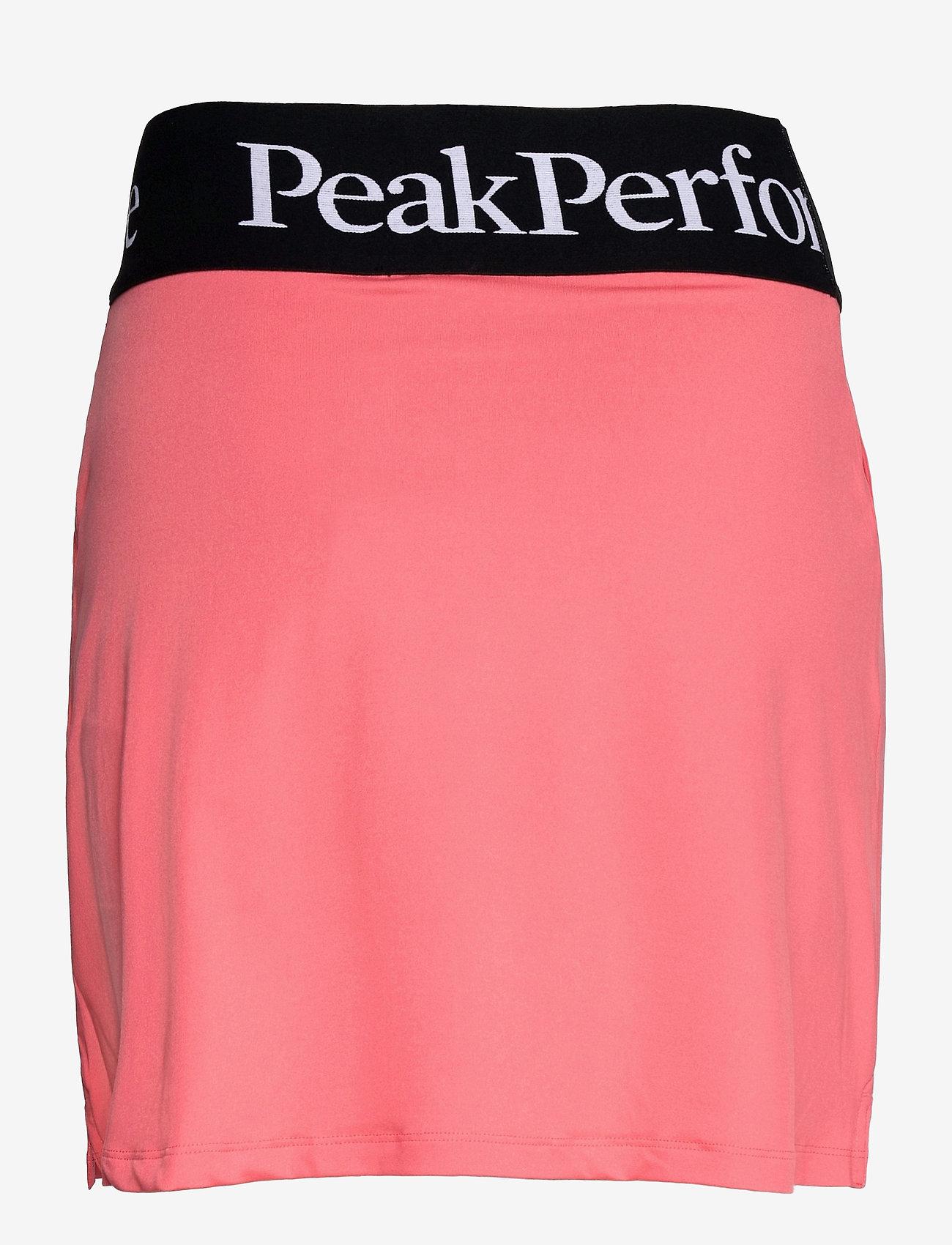 Peak Performance - W Turf Skirt - urheiluhameet - alpine flower - 1