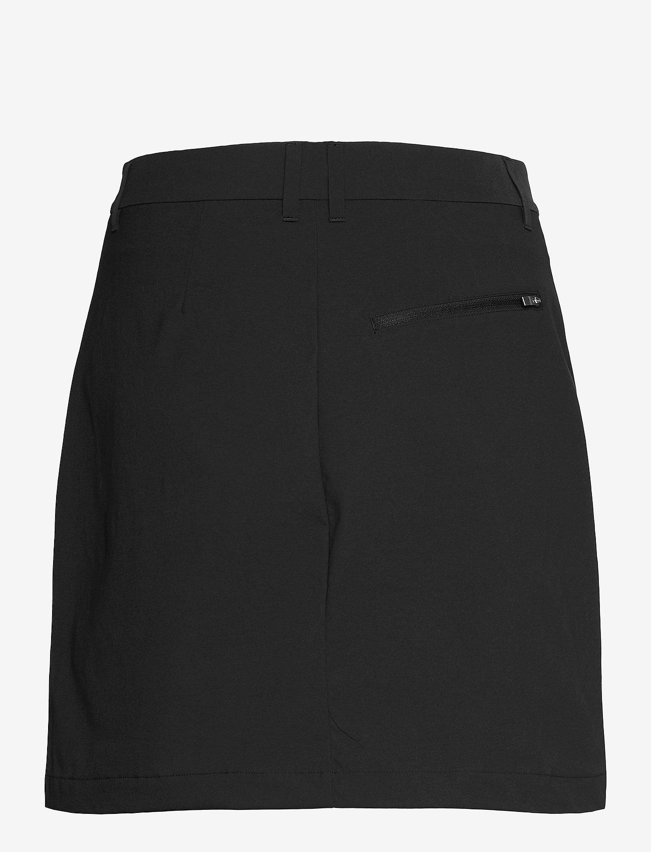 Peak Performance - W Illusion Skirt - urheiluhameet - black - 1