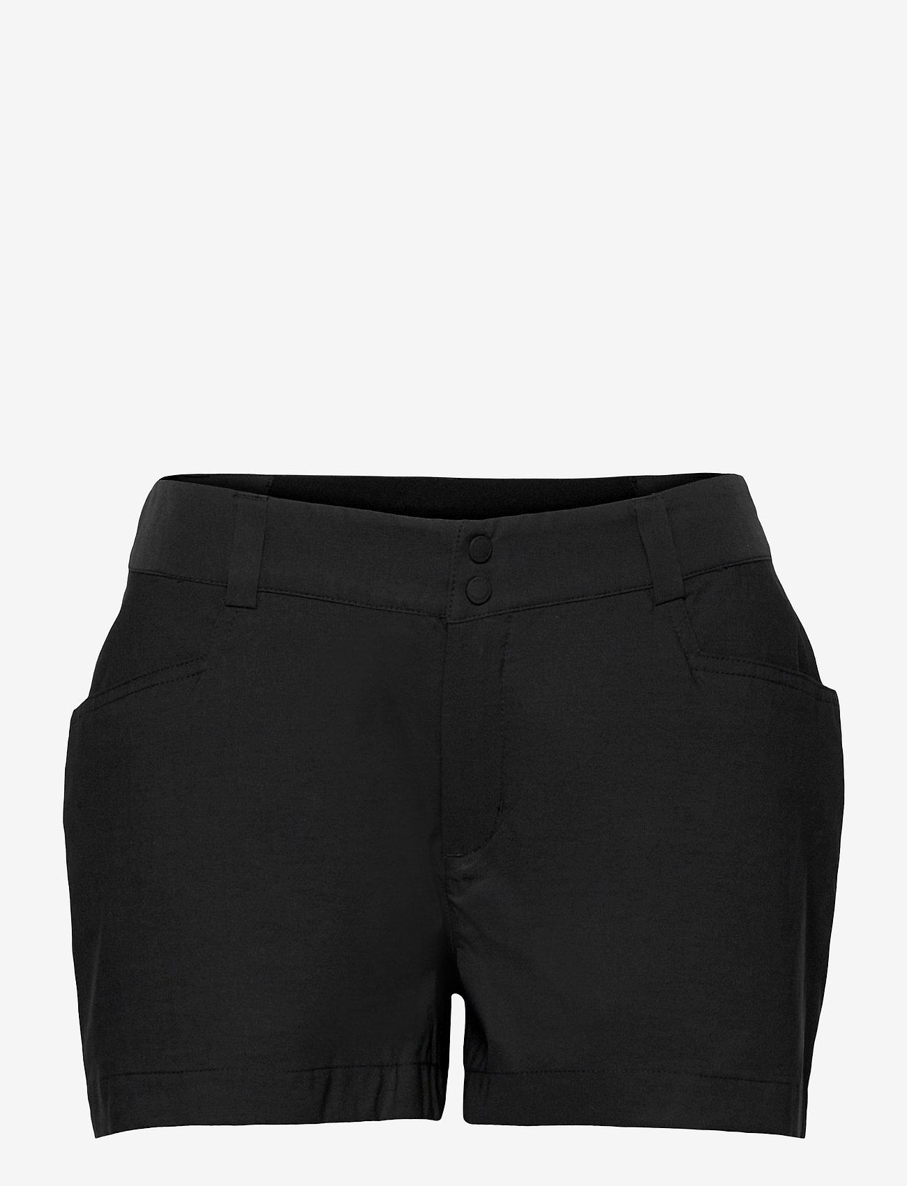 Peak Performance - W Iconiq Shorts - wandel korte broek - black - 0
