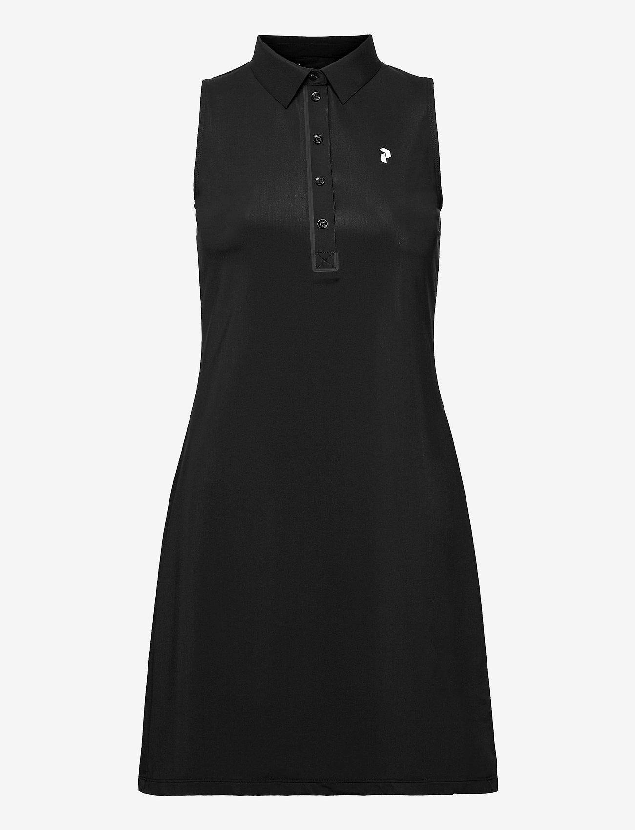 Peak Performance - W Trinity Dress - t-paitamekot - black - 0