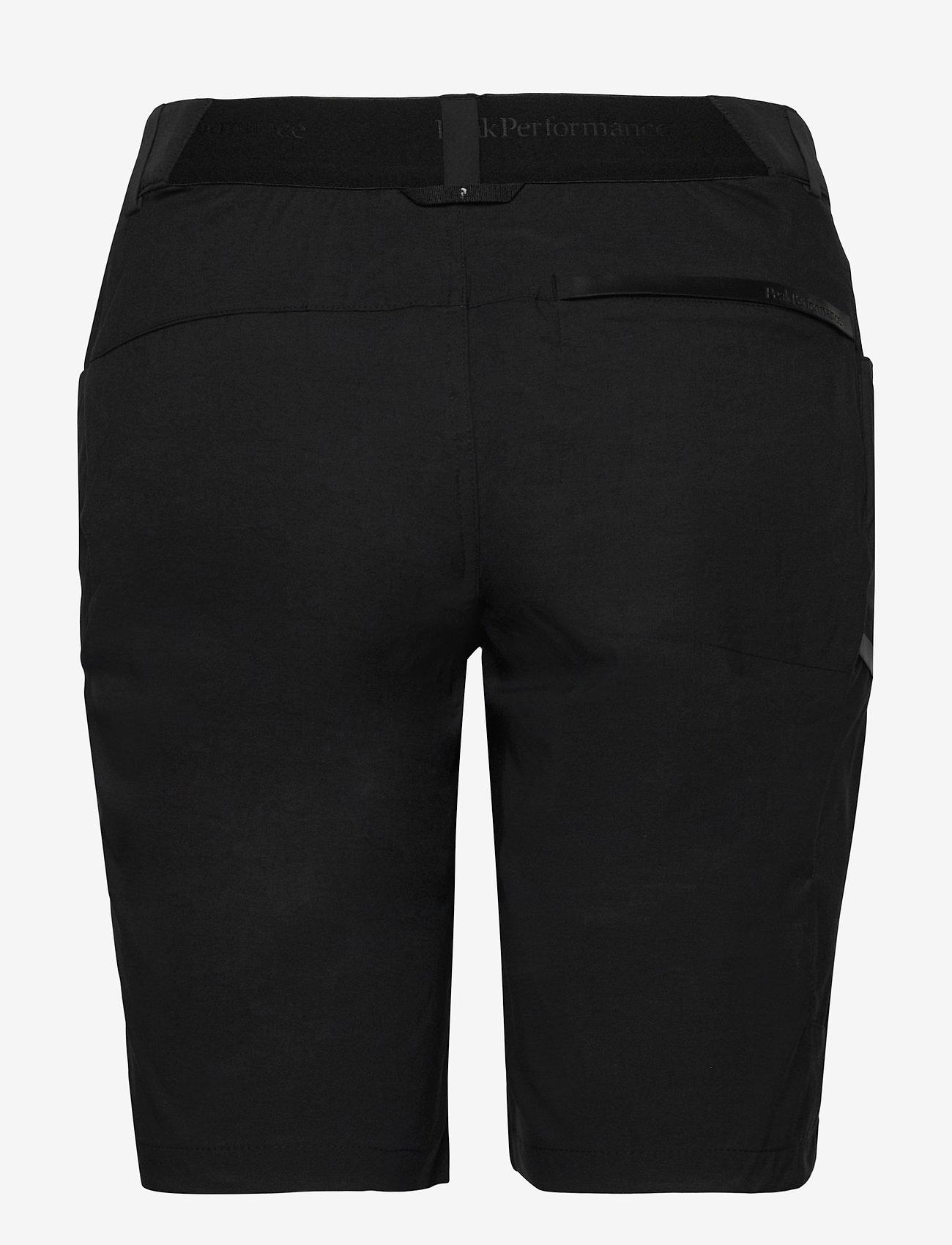 Peak Performance - W Iconiq Long shorts - short de randonnée - black - 1