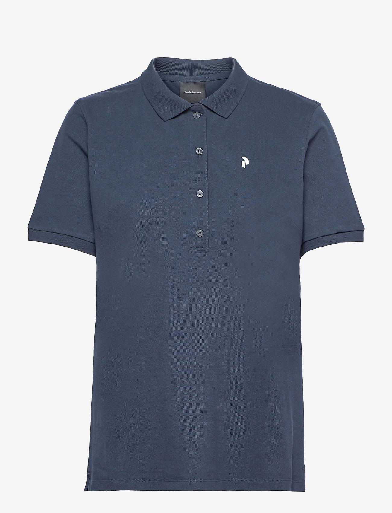 Peak Performance - W Classic Polo - paidat - blue shadow - 0