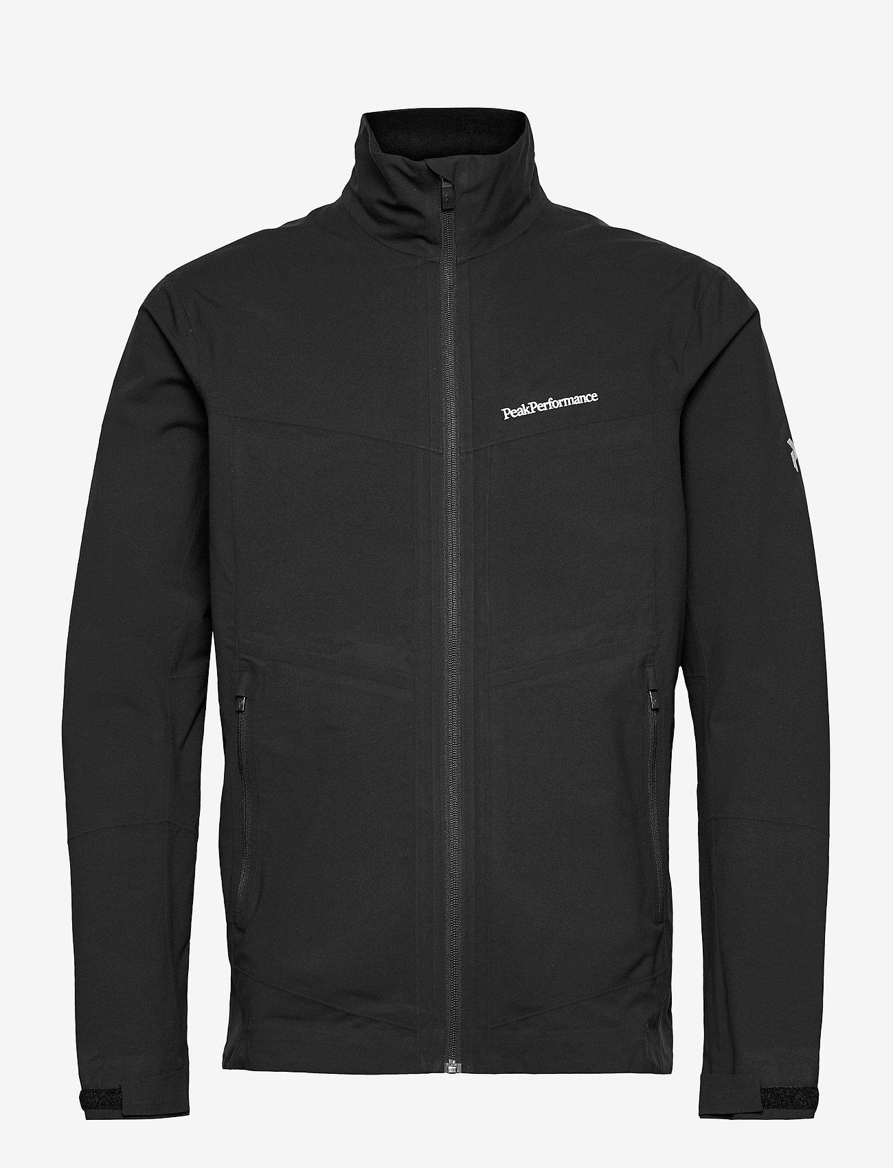 Peak Performance - M Velox Jacket - golf jackets - black - 0