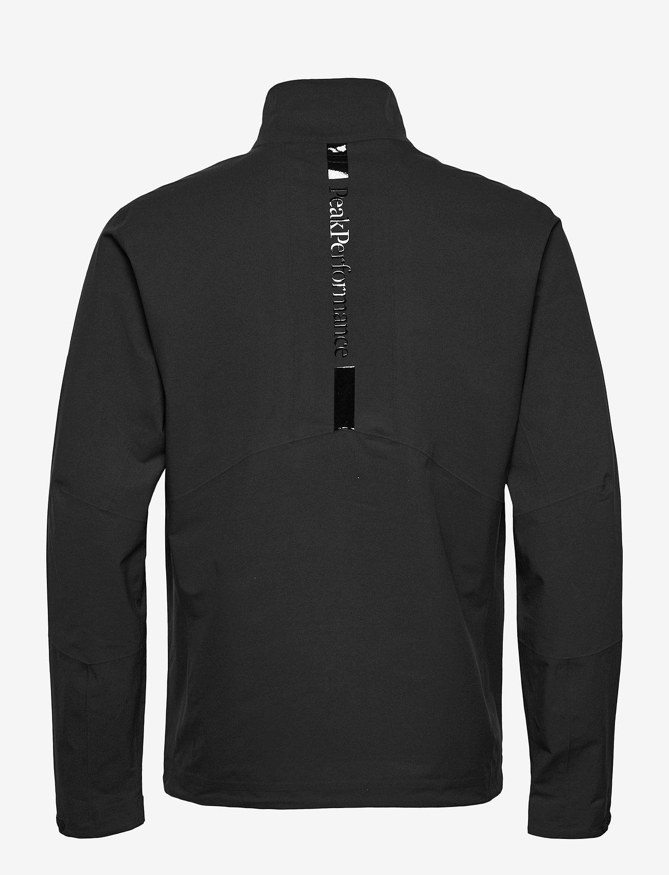 Peak Performance - M Velox Jacket - golf jackets - black - 1