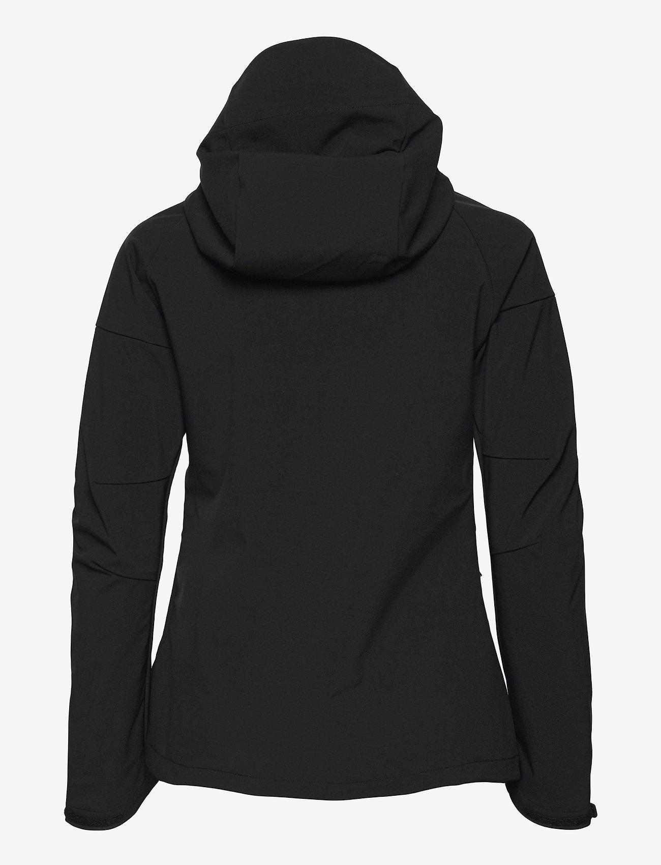Peak Performance - W Adventure Hood Jacket - ulkoilu- & sadetakit - black - 1