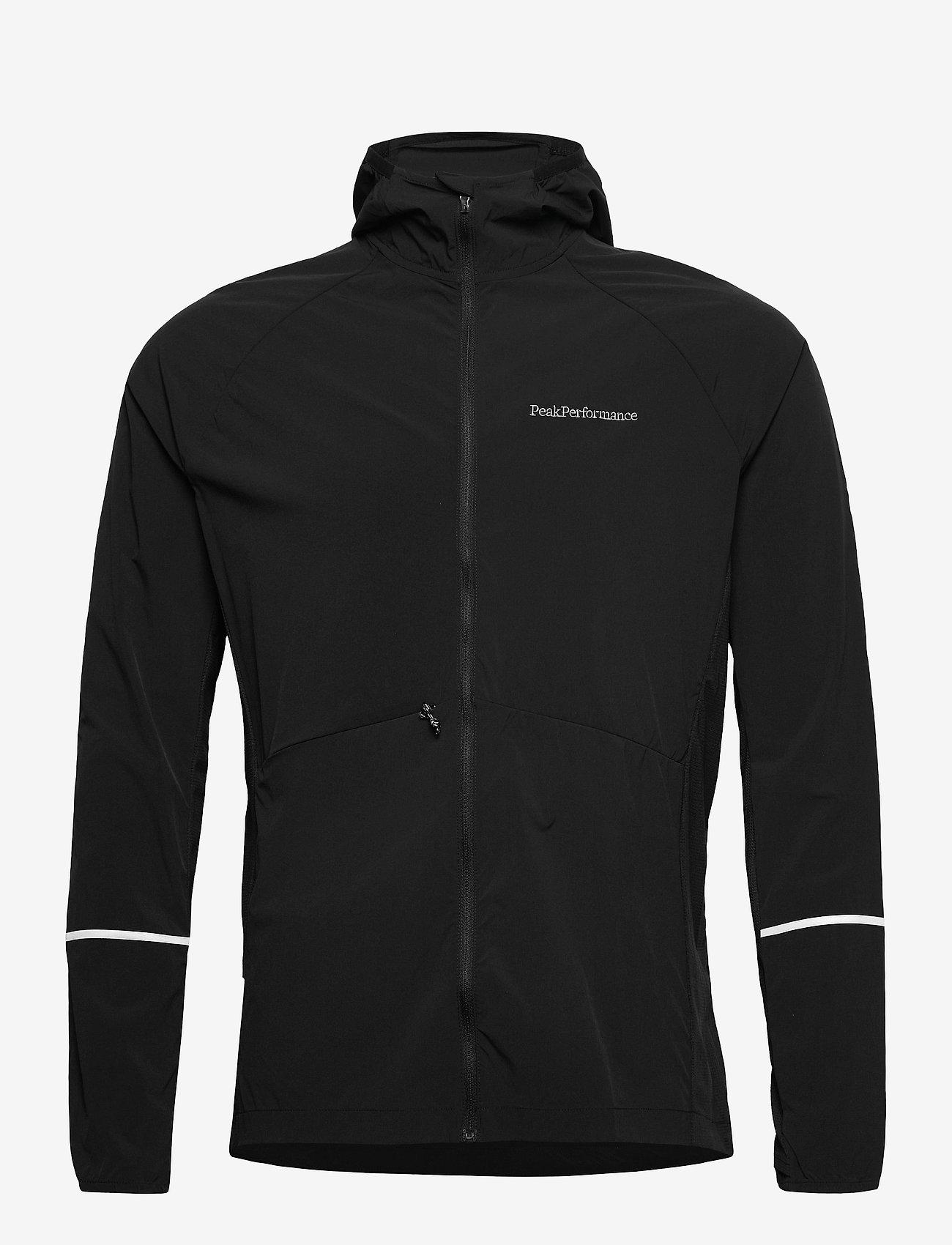 Peak Performance - M Alum Light Jacket - ulkoilu- & sadetakit - black - 0