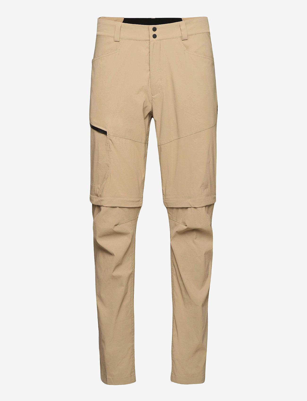 Peak Performance - M Iconiq Zip Off Pant - pantalon de randonnée - true beige - 0
