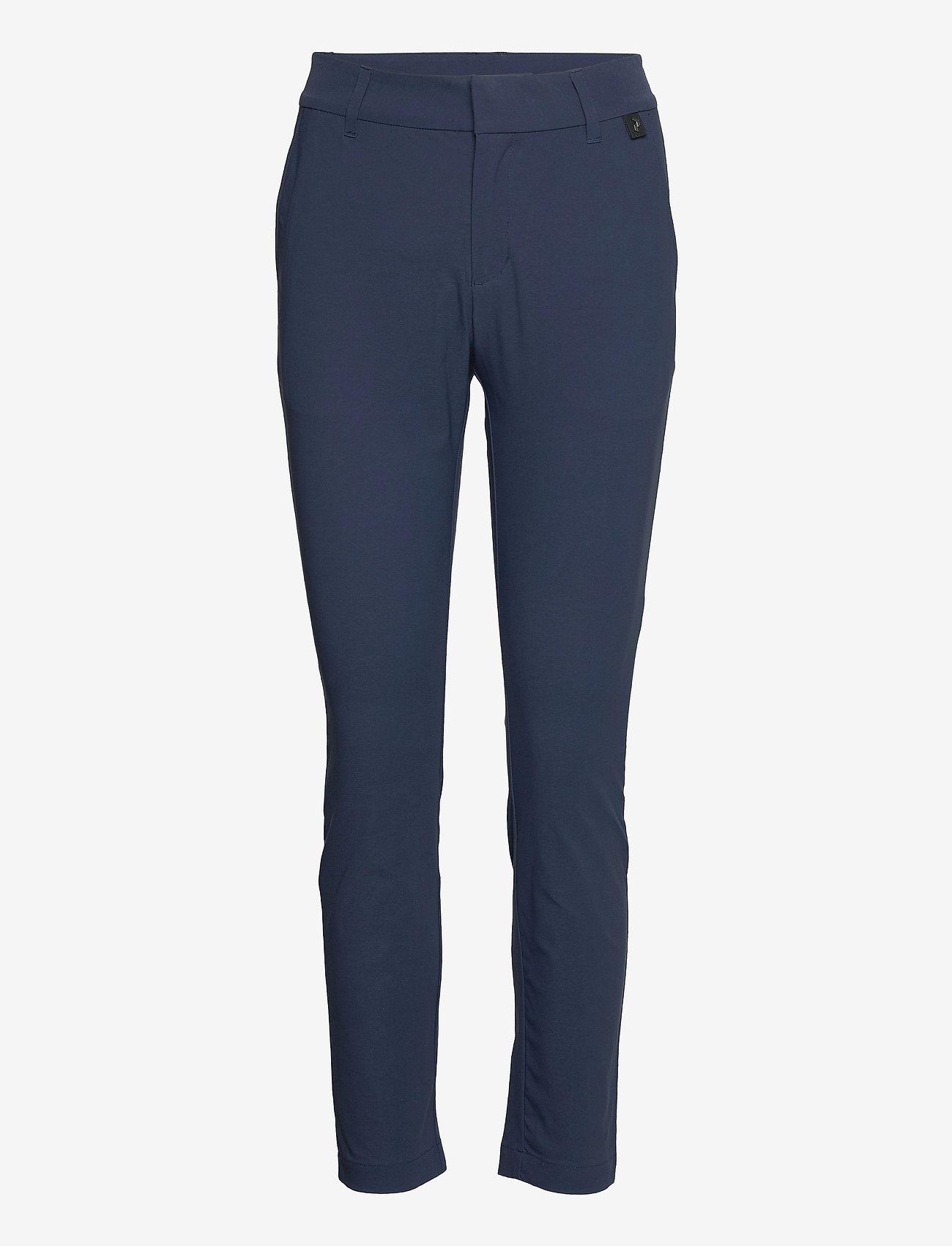 Peak Performance - W Illusion Pants - golf-housut - blue shadow - 0