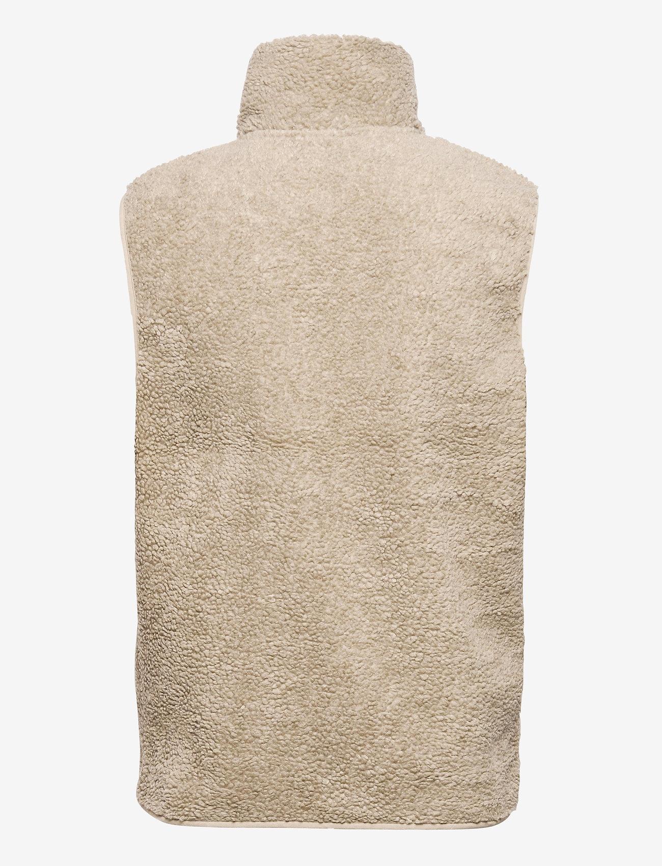 Peak Performance - M Original Pile Vest - sports jackets - celsian beige - 1