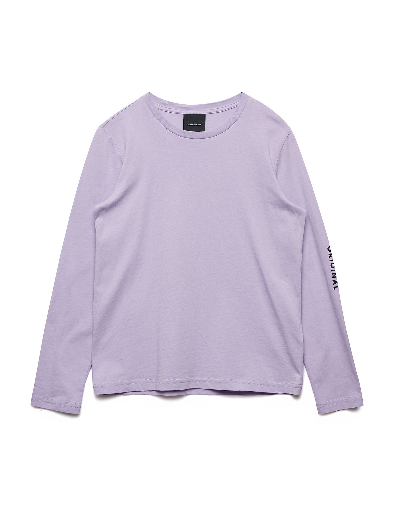 Peak Performance JR LOGO LS - LILAC BREEZE