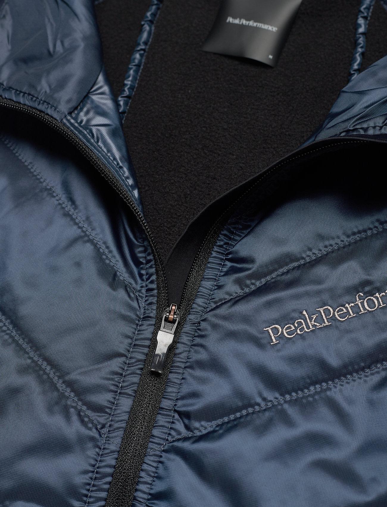 Peak Performance M Alum Vest Blue Steel - Jakker og frakker BLUE STEEL - Menn Klær