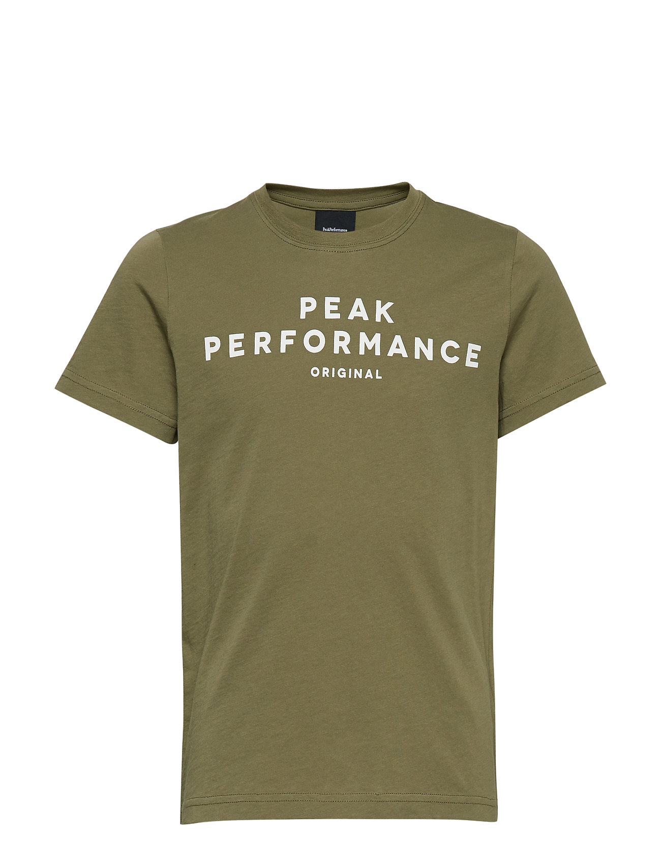 Peak Performance JR ORIG T - LEAFLET GREEN