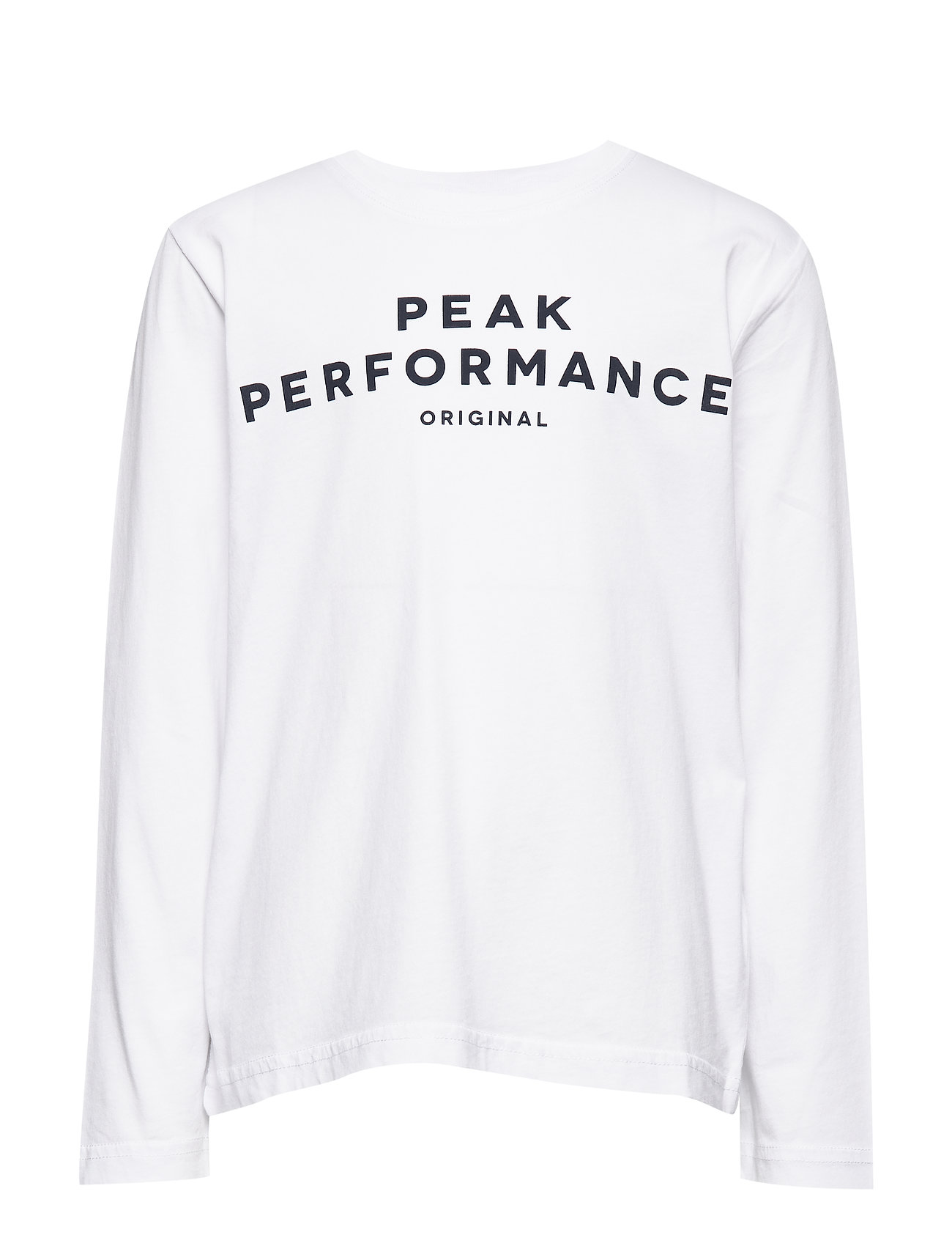 Peak Performance JR ORIG LS - WHITE