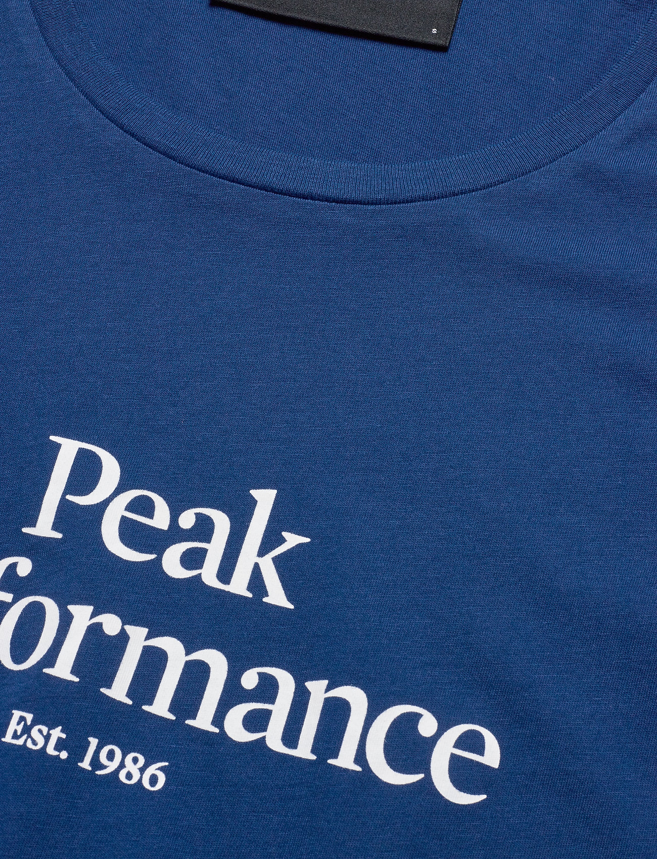 Peak Performance W Original Tee - T-shirts & Toppar Cimmerian Blue