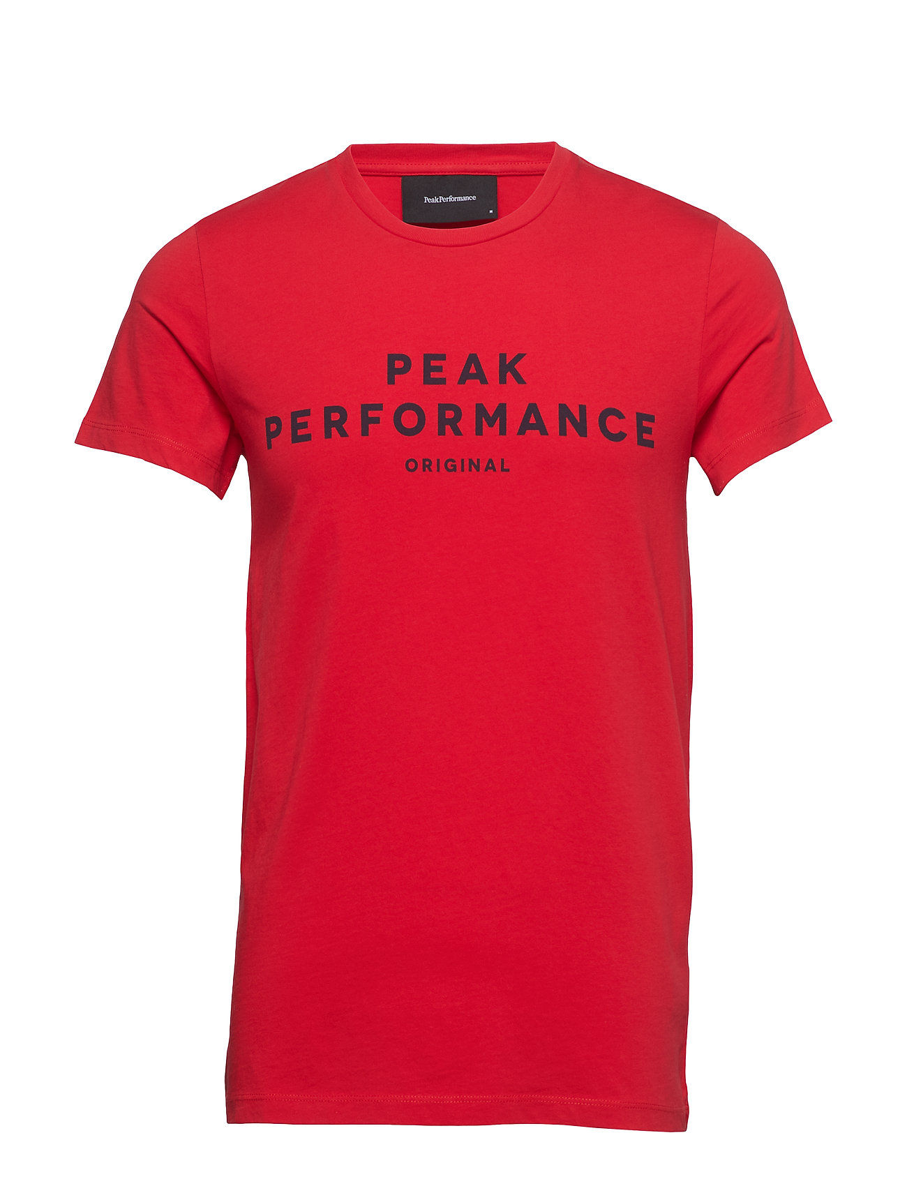 Peak Performance M ORIG TEE - CHINESE RED
