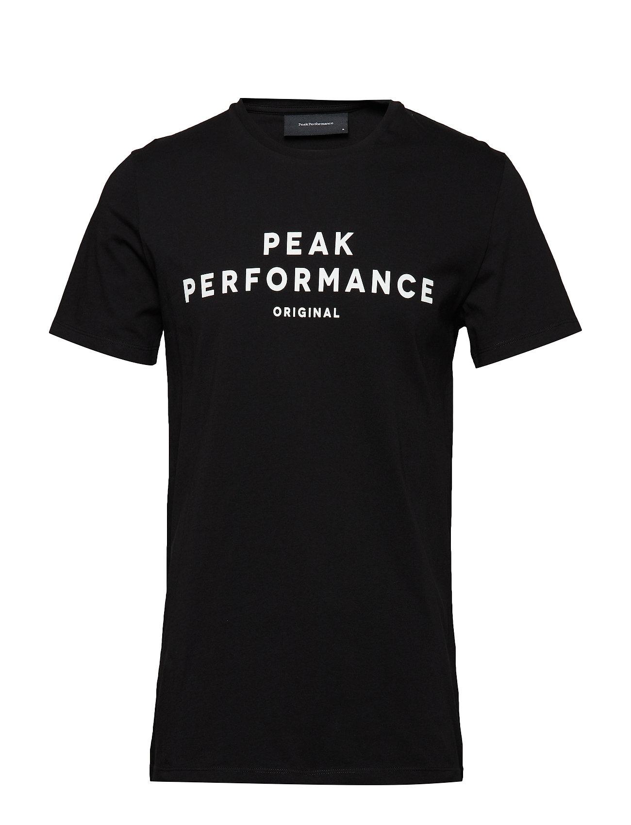 Peak Performance ORIGI TEE - BLACK