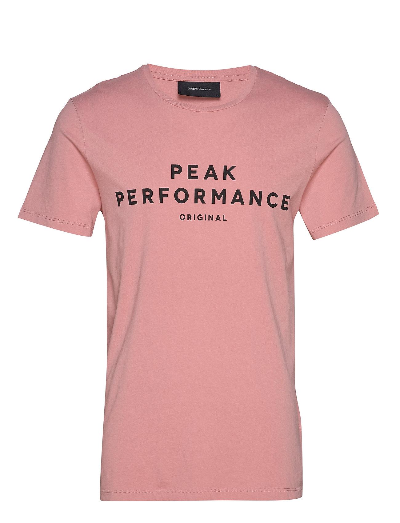 Peak Performance M ORIG TEE - DESERT ROSE